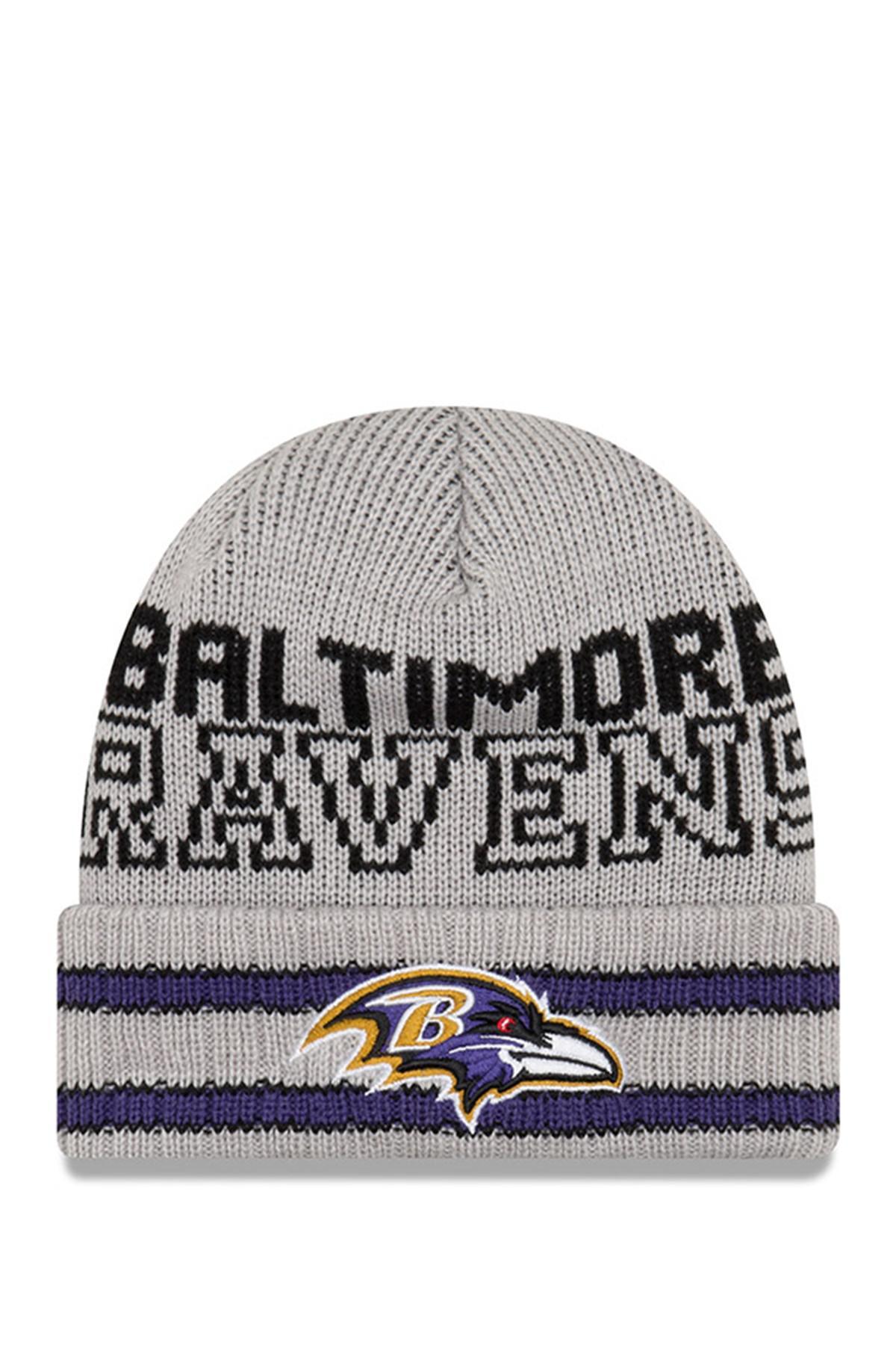 Lyst - Ktz Nfl Baltimore Ravens Crisp   Cozy Beanie in Gray for Men dd403db8b