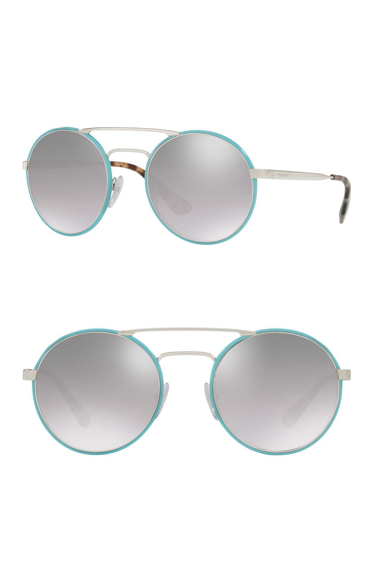 480861bb1a0 Prada. Women s 54mm Round Catwalk Sunglasses