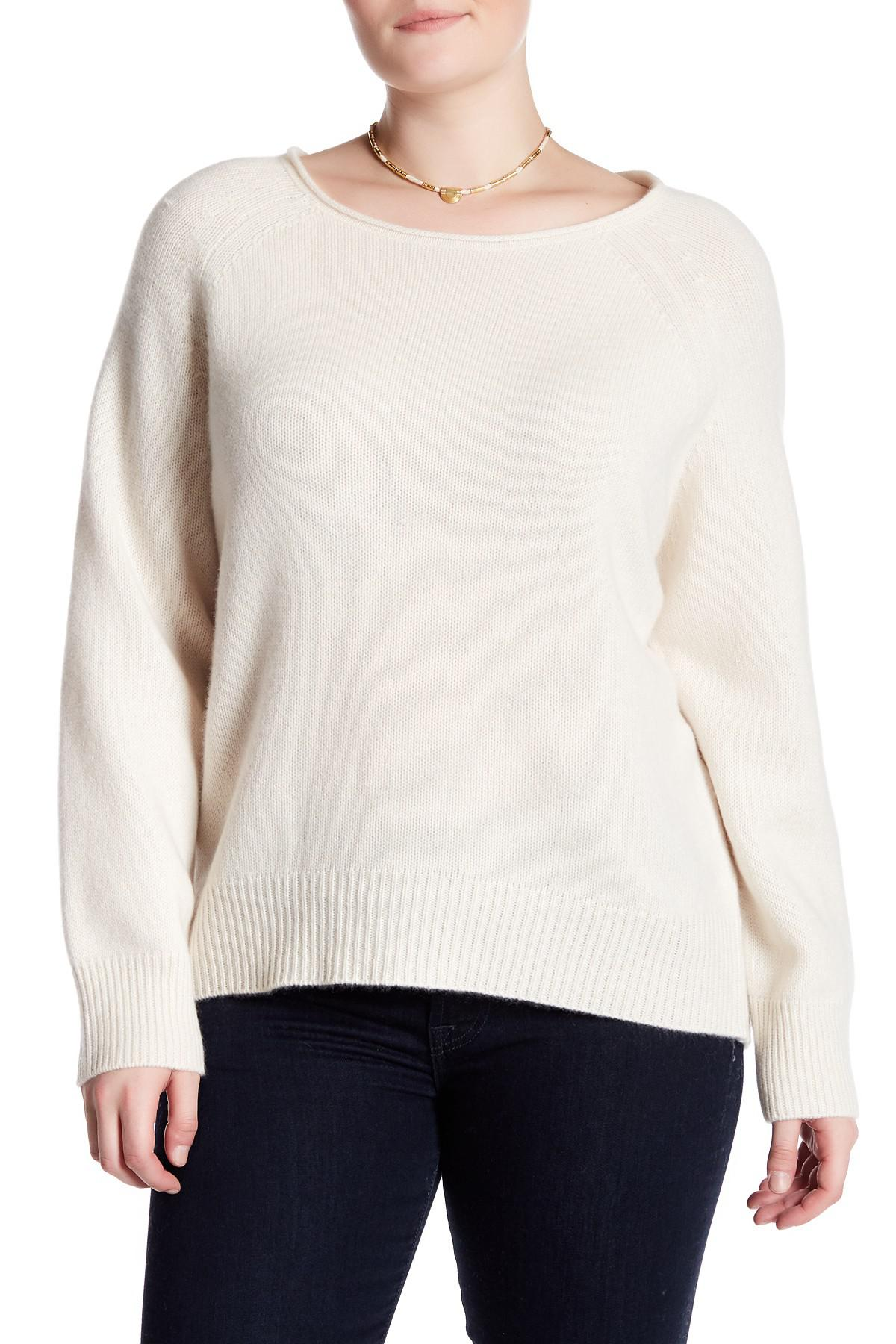 15f580cb8ad Lyst - Naked Cashmere Leila Raglan Cashmere Sweater (plus Size)