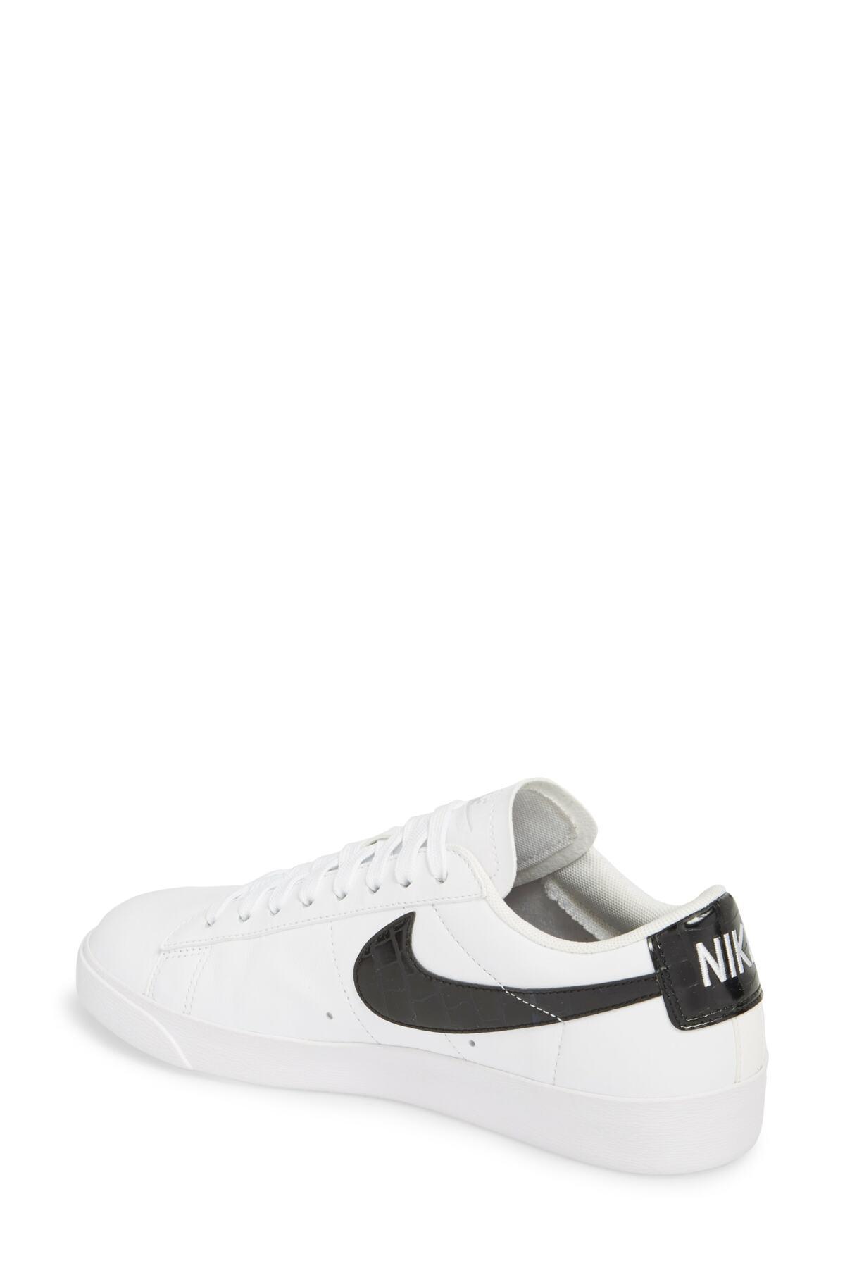 promo code ab258 2168d Nike White Blazer Low Essential Sneaker