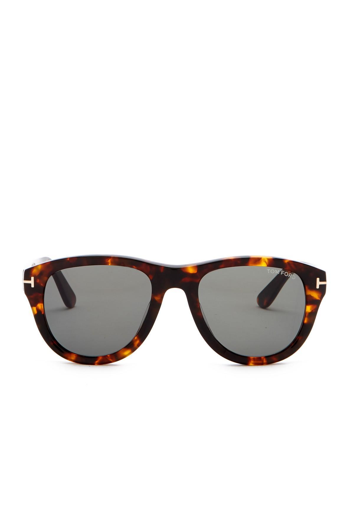6f7ba2e474 Tom Ford - Multicolor Benedict 53mm Round Sunglasses - Lyst. View fullscreen