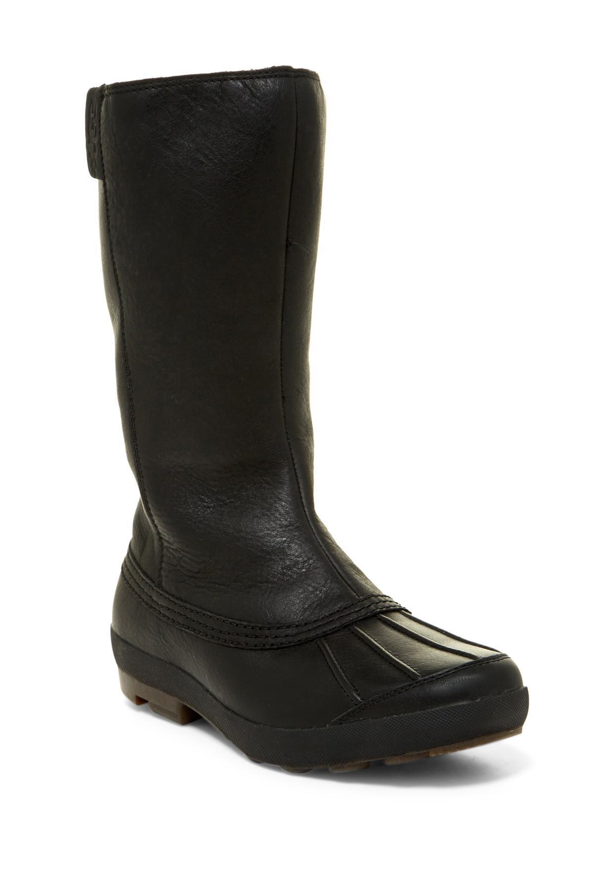 8d921192de9 Ugg Black Belfair Waterproof Uggpure Boot