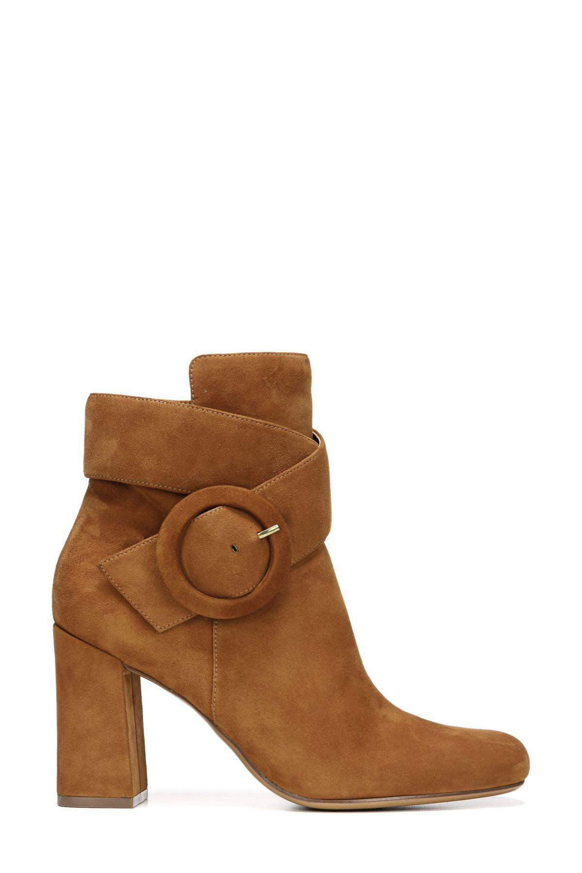 e455cd1220 Naturalizer - Brown Rae Bootie - Wide Width Available - Lyst. View  fullscreen
