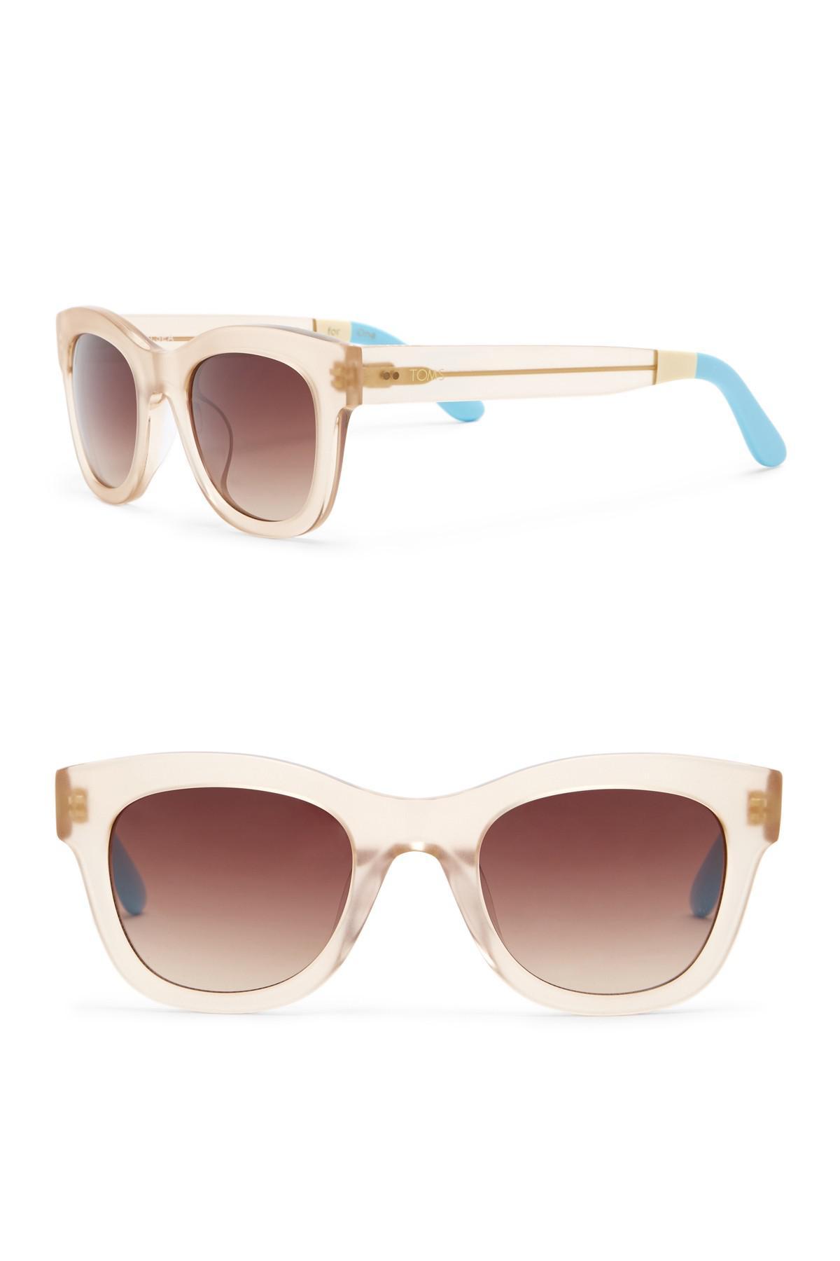 817c014e5b TOMS. Women s Chelsea 50mm Square Sunglasses