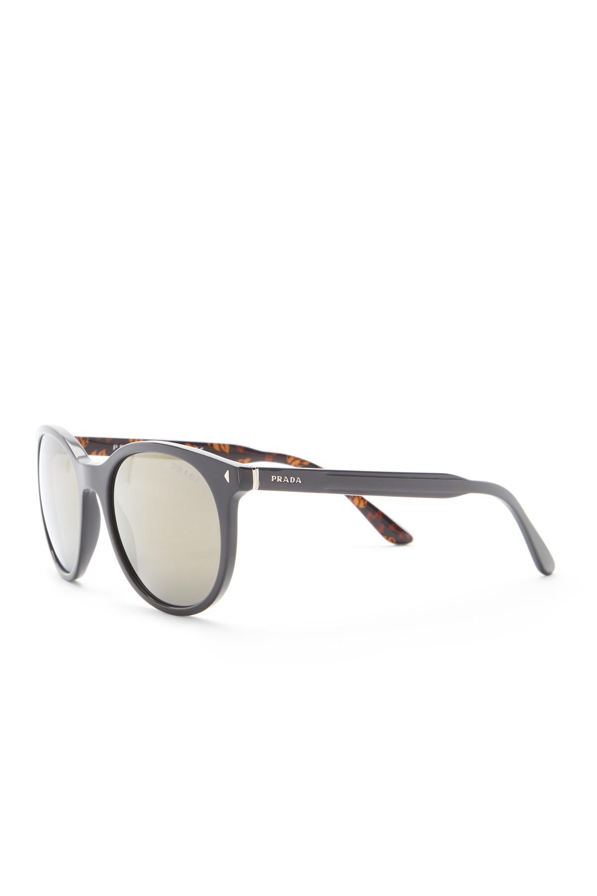 ec1257616b Prada Gray Men's Conceptual Lettering Logo Sunglasses for men