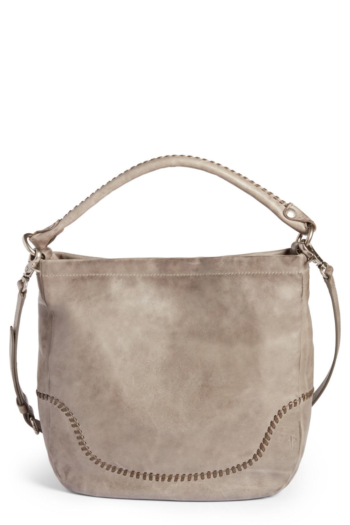 2560b01bf Frye Melissa Whipstitch Leather Hobo Bag - Lyst