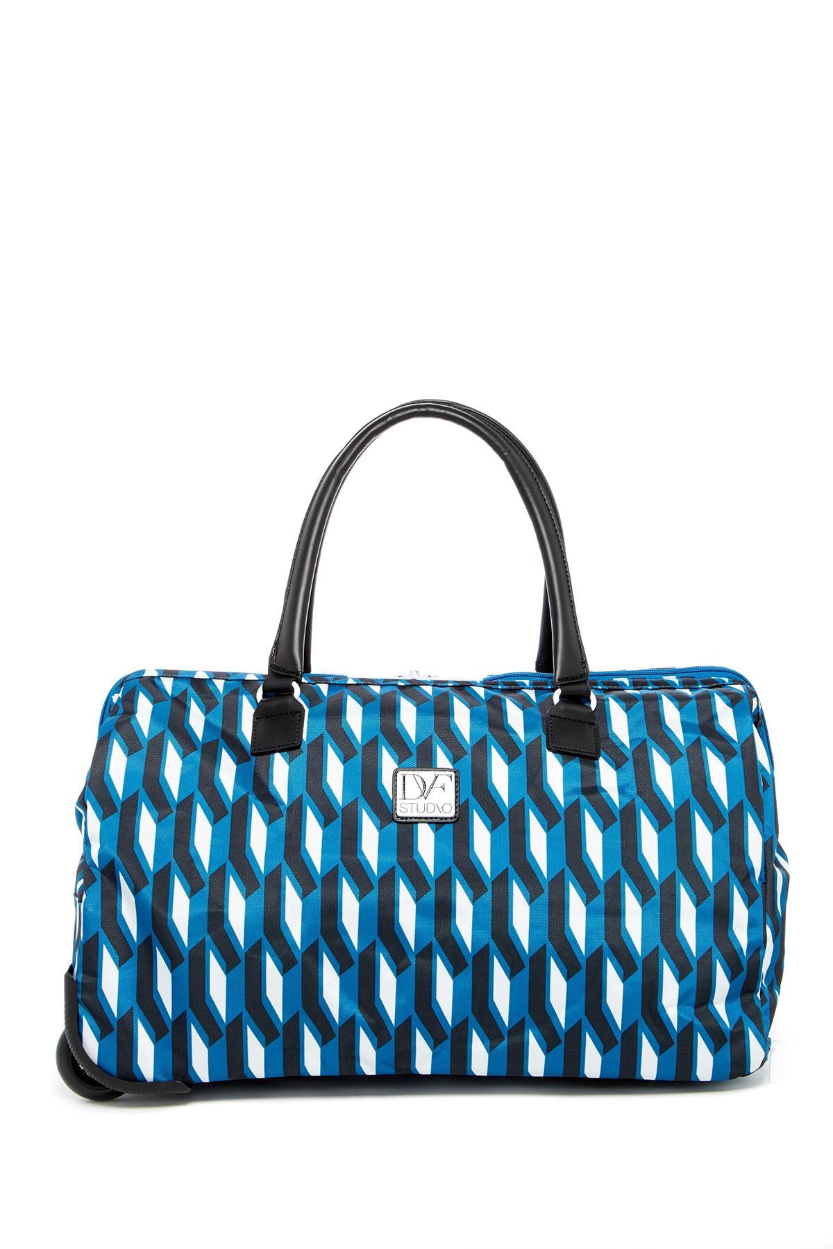 1916865b8b73 Lyst - Diane von Furstenberg Lilah Rolling Weekend Bag in Blue