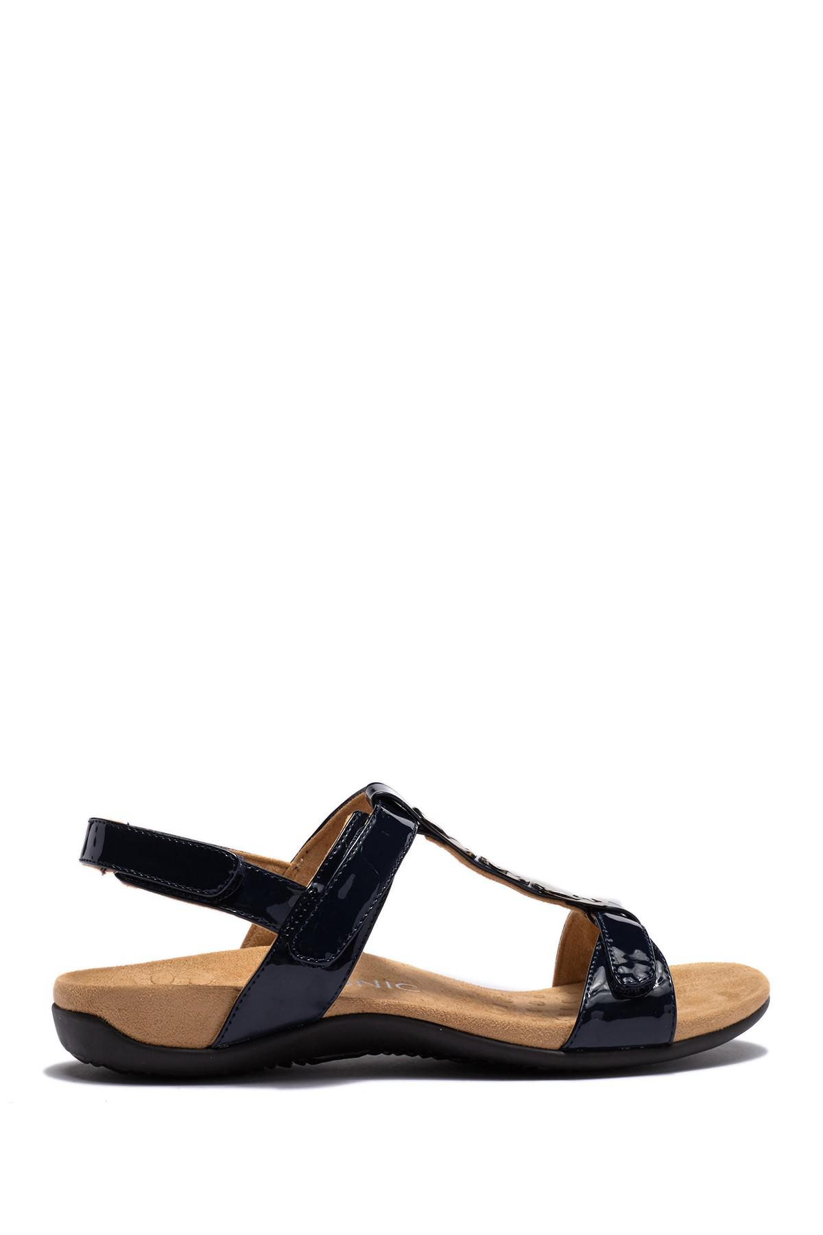 ccd268caf3e Lyst - Vionic Farra Sandal - Wide Width Available in Blue