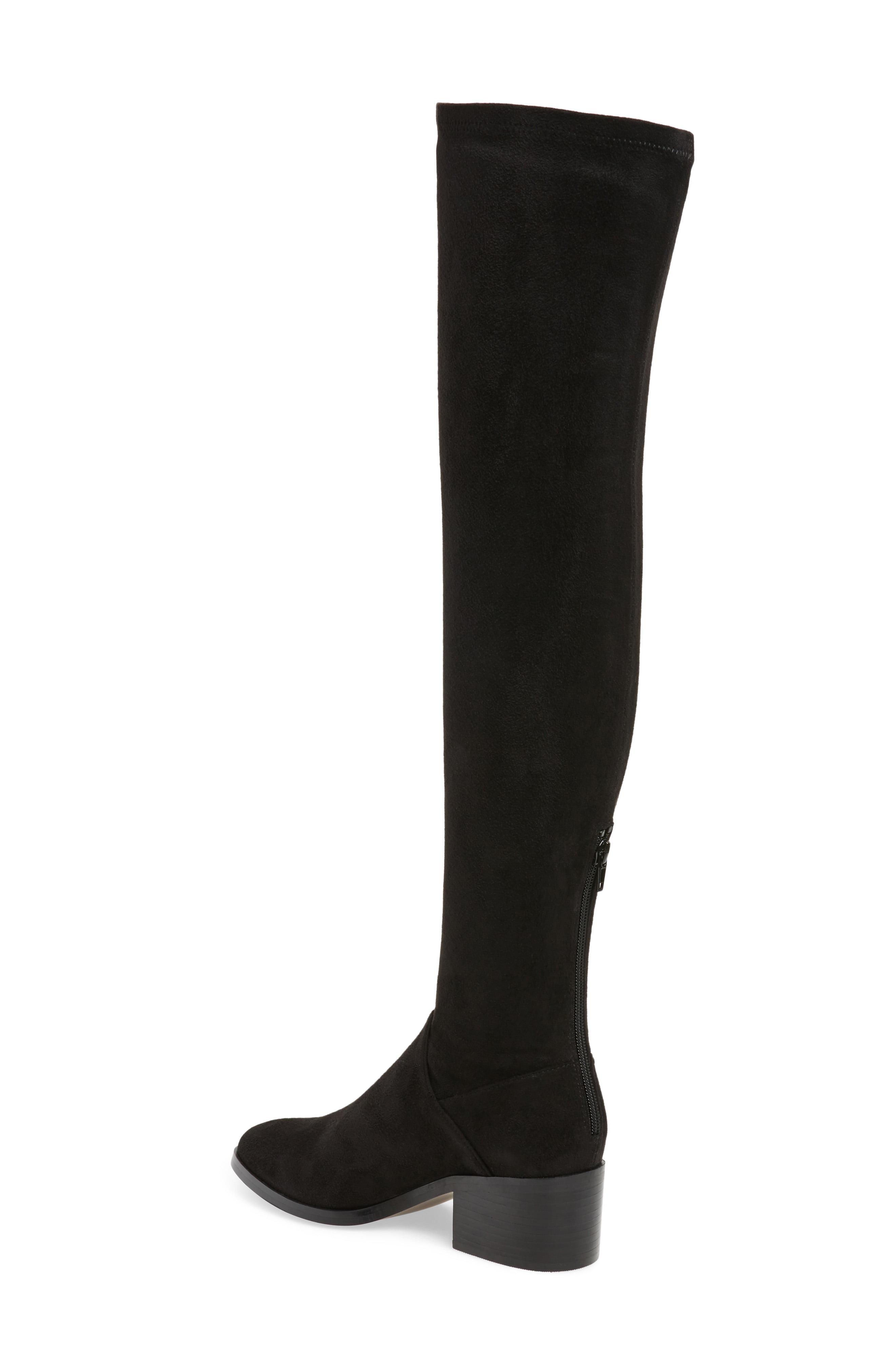 Steve Madden Gabbie Thigh High Boots In Black Lyst