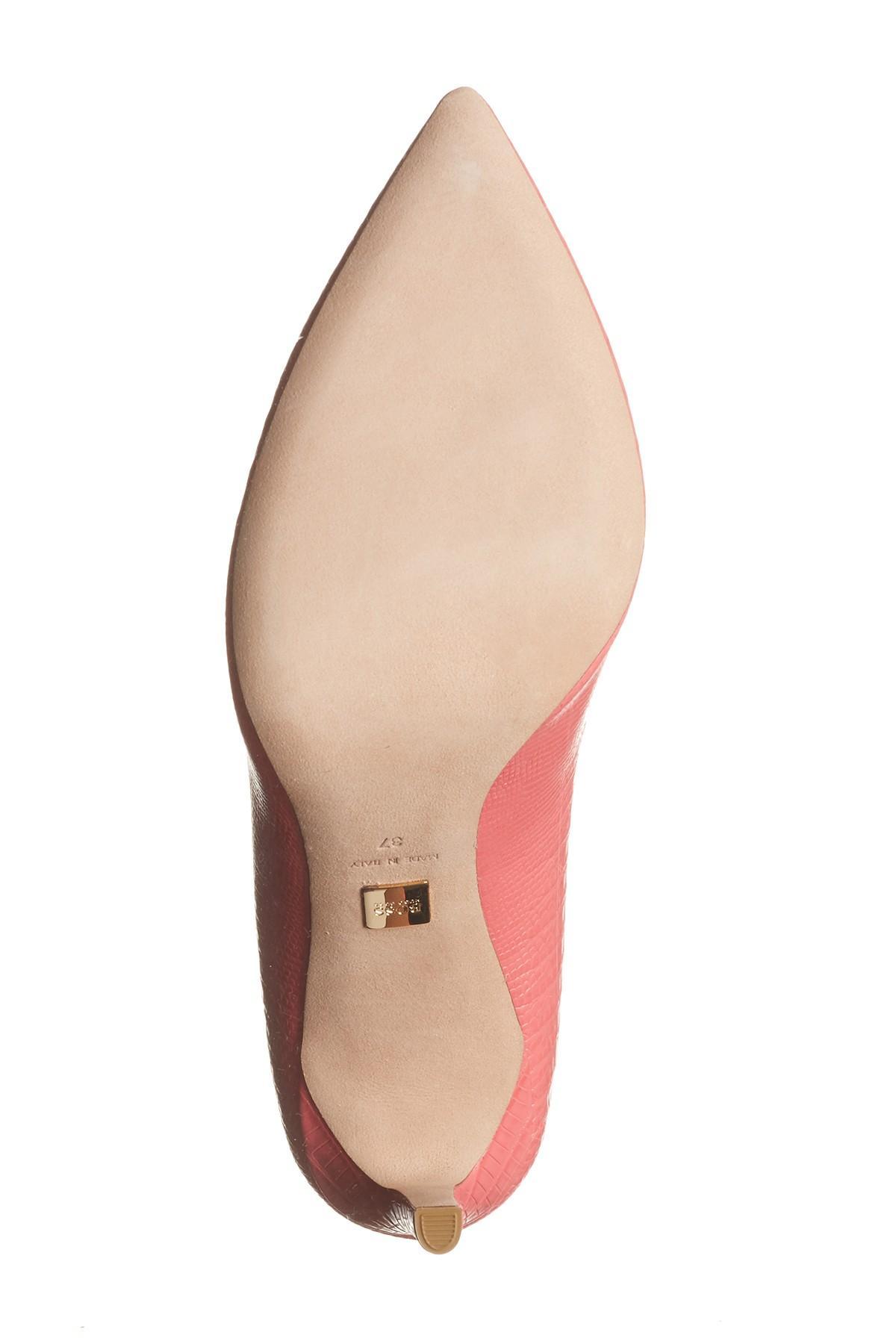 97618157fa3 BOSS Multicolor Staple Croc Emed Point Heel