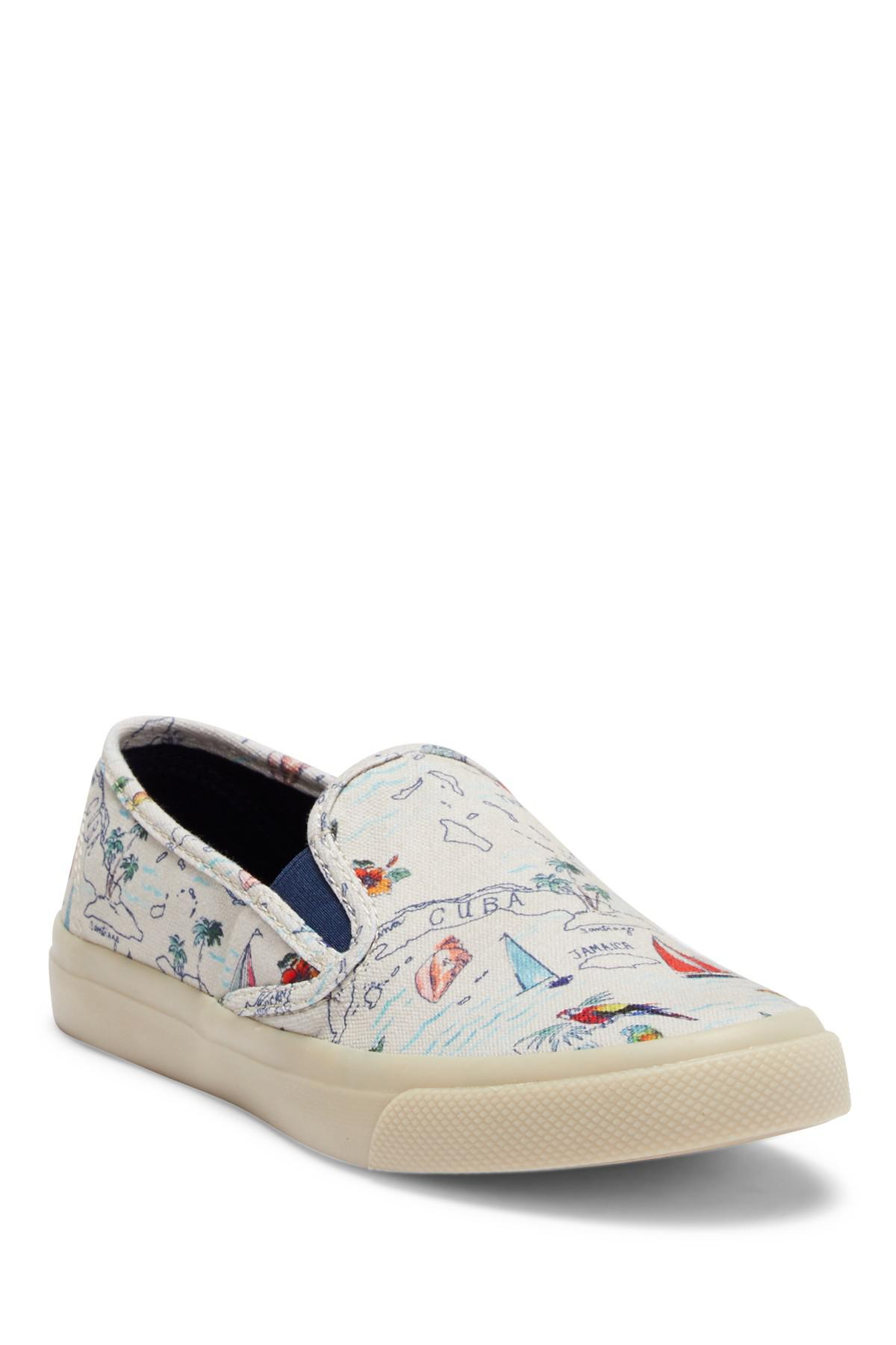 Sperry Top-Sider Canvas Seaside Map