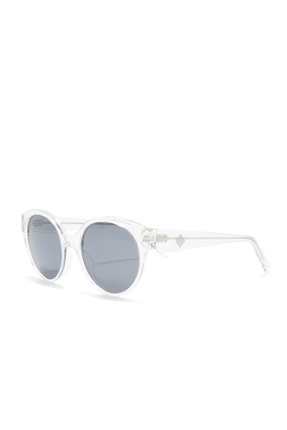 36b7c3a47e62 Cole Haan - Multicolor Polarized 52mm Round Sunglasses - Lyst. View  fullscreen