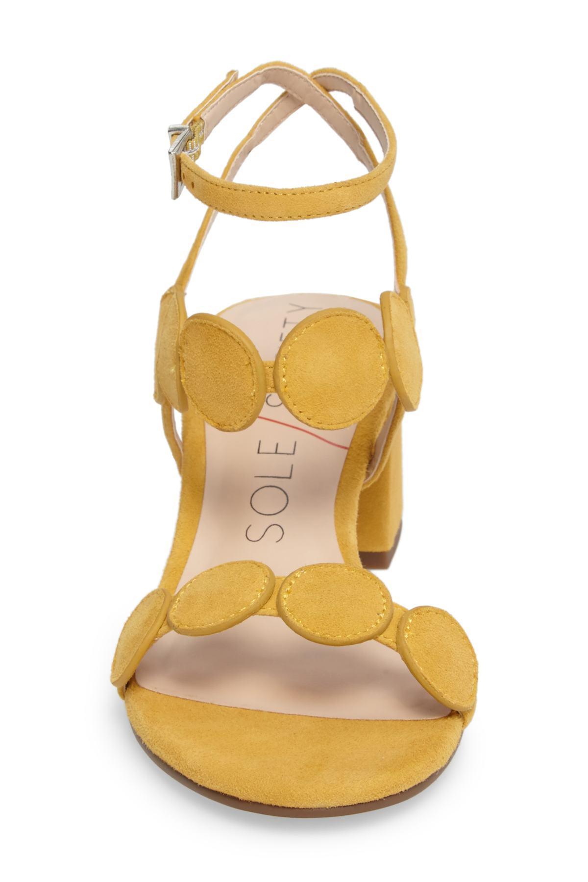 6eabcf062ec5 Lyst - Sole Society Shea Block Heel Sandal (women)