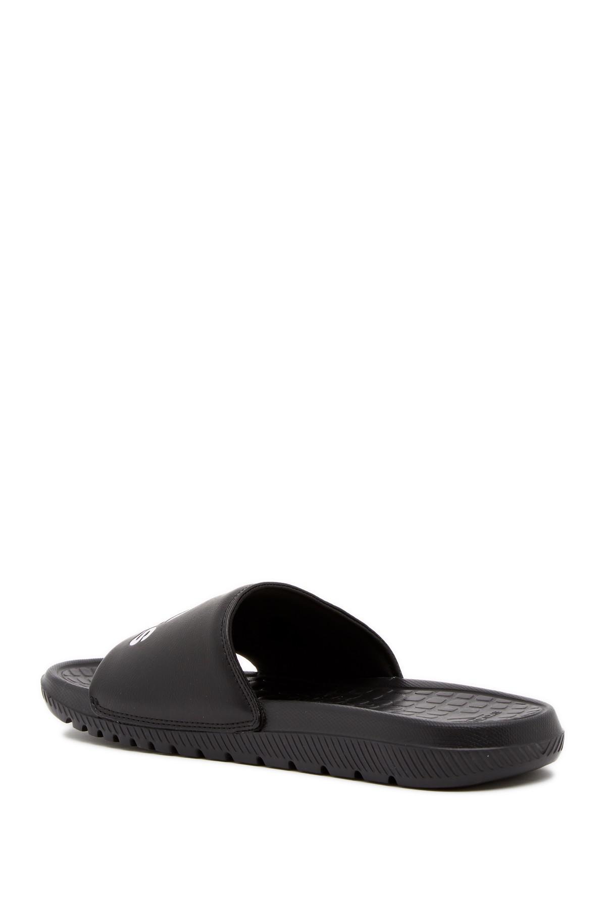 e541d85ff5f6 Adidas - Black Voloomix Slide Sandal for Men - Lyst. View fullscreen