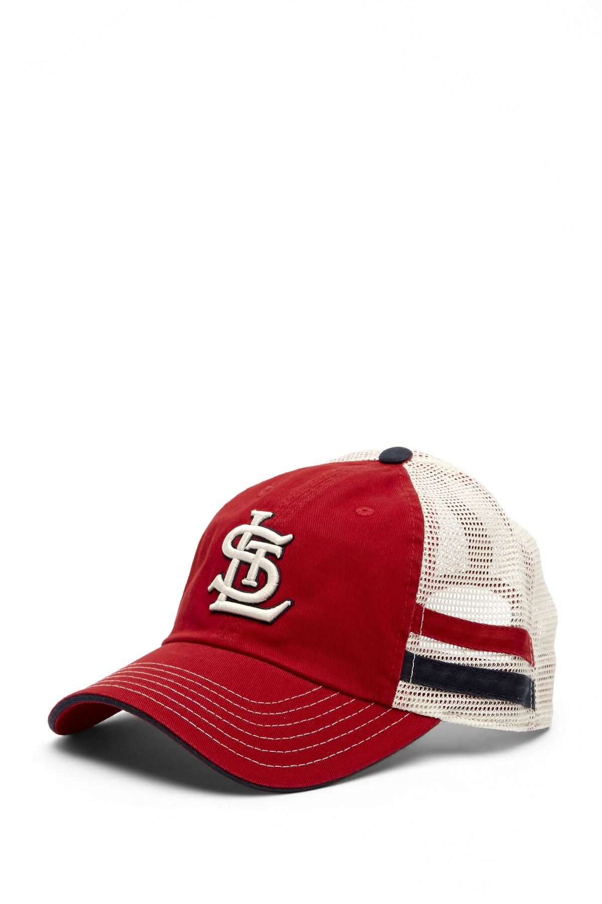 Lyst - American Needle Foundry St. Louis Cardinals Mesh Back ... 713323b71f9