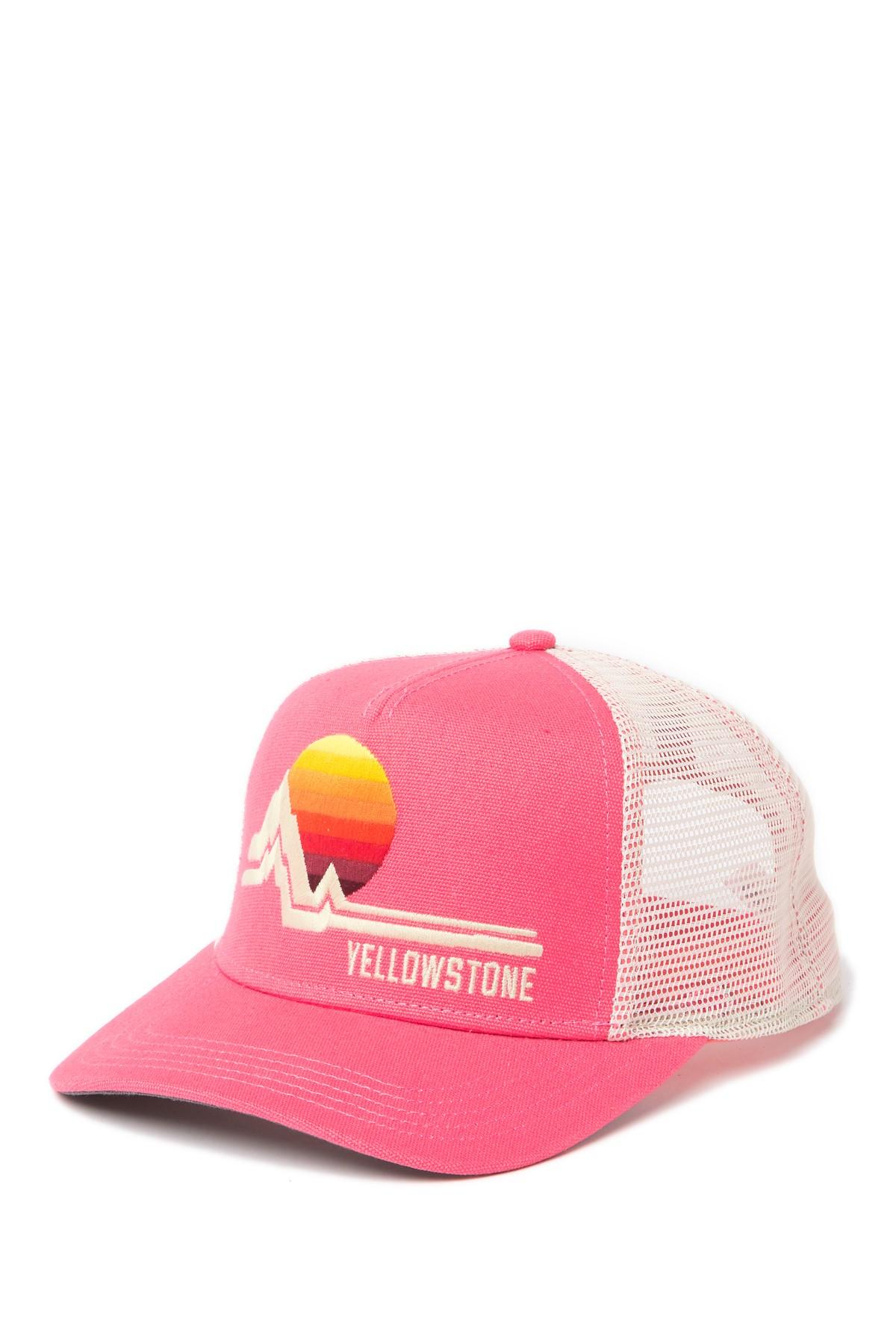 baa1f64b7 American Needle Yellowstone National Park Valin Hat in Pink for Men ...