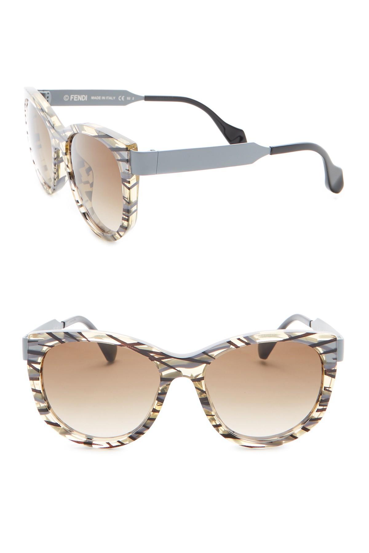 5f603b50845 Fendi. Women s 54mm Cat Eye Sunglasses