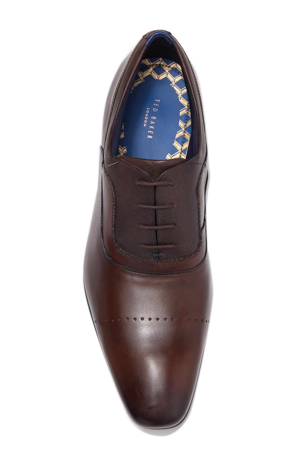 Ted Baker Mens INESCE Oxford 13 M US TAN Leather