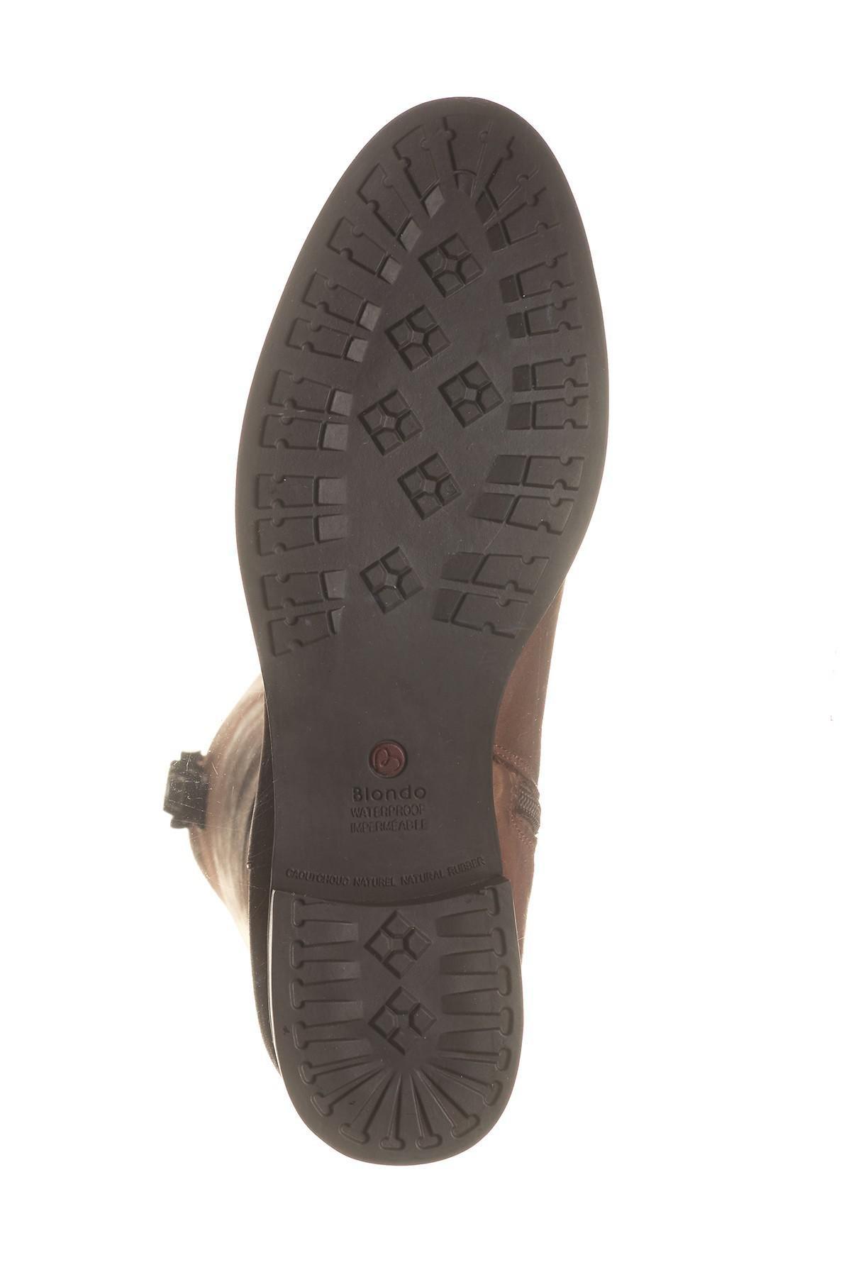 233e75e4a61 Blondo Brown 'velvet' Waterproof Riding Boot (women) (regular & Wide Calf)