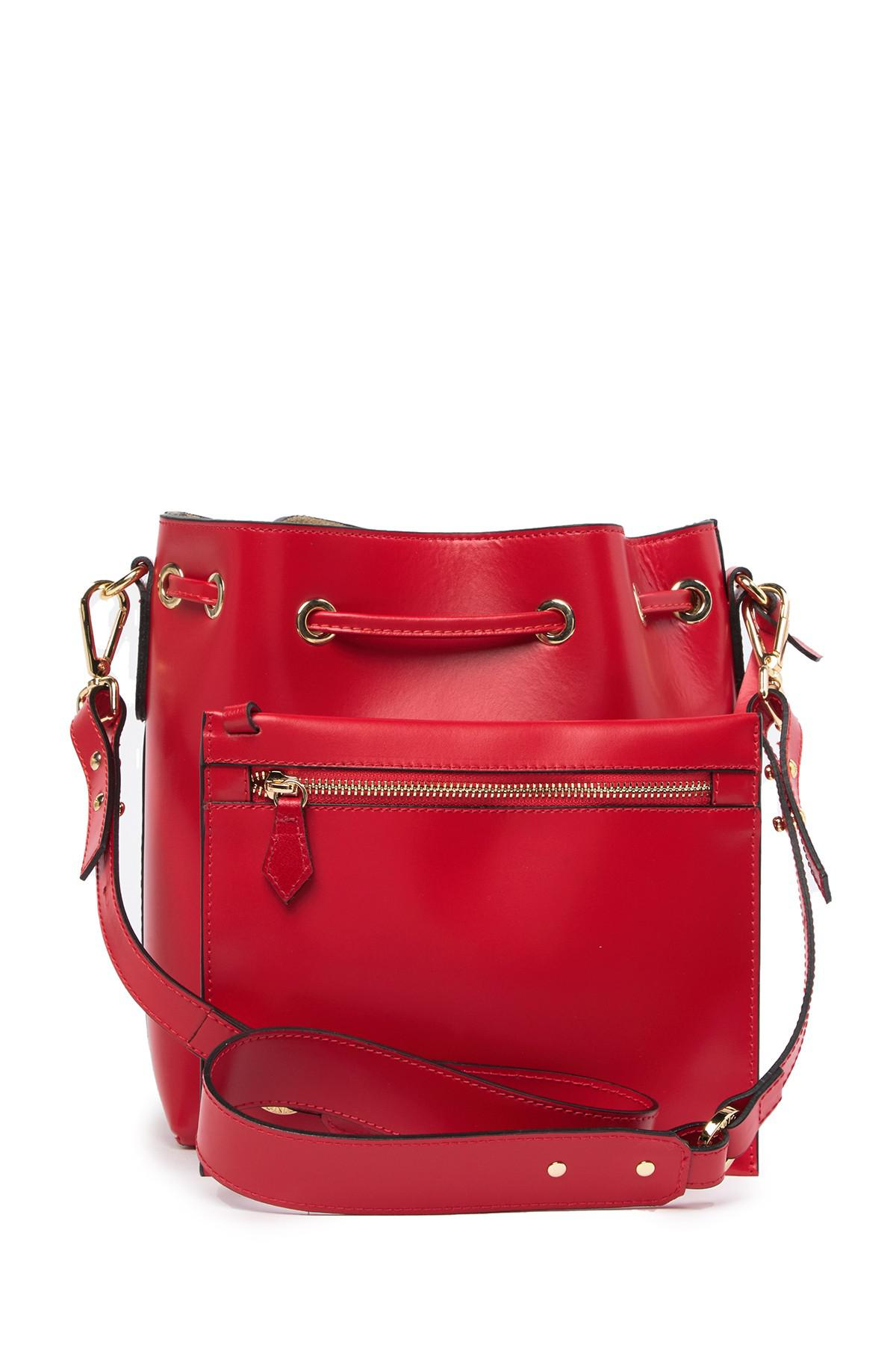 4d01bf8259 Valentino By Mario Valentino Honorine Leather Drawstring Shoulder ...