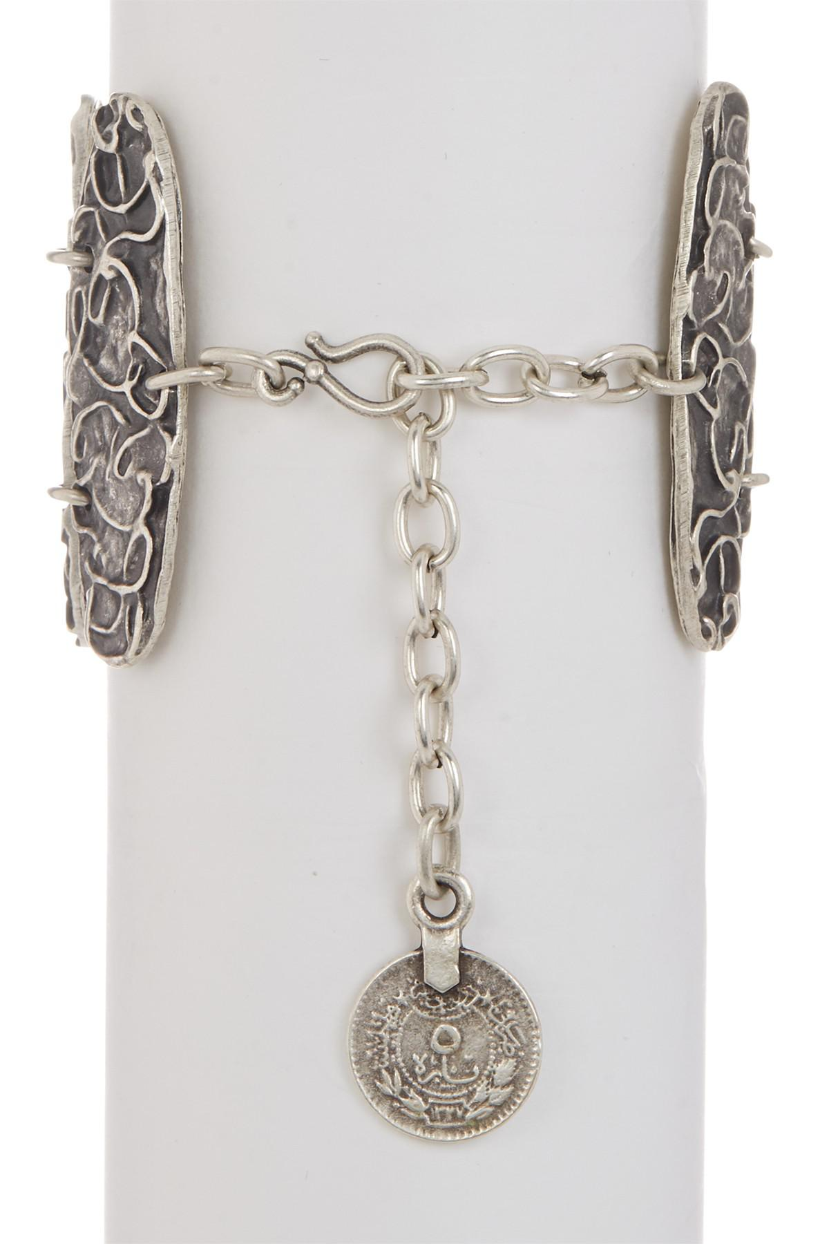 plate billet link from two pin bracelet and m bracelets cohen layering layer designs silver