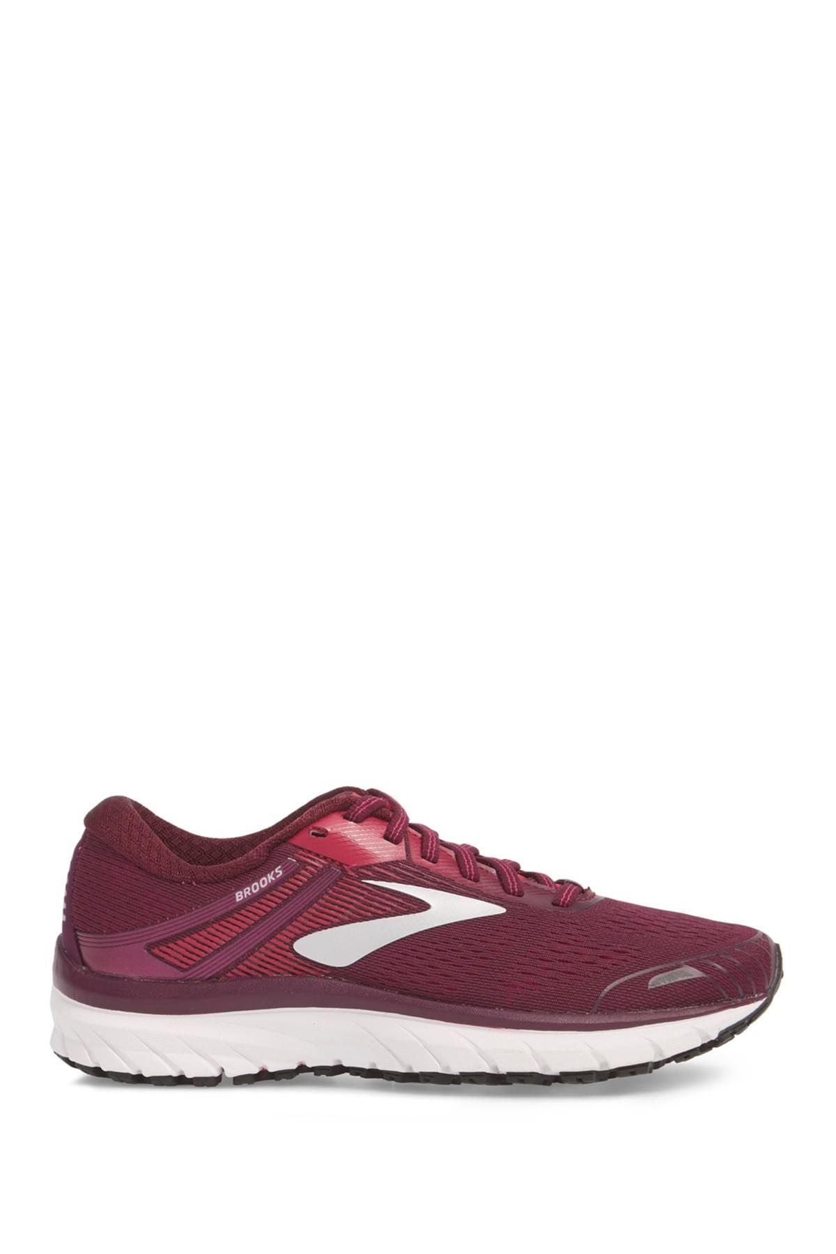 38ec53400ae Brooks - Purple Adrenaline Gts 18 Running Shoe - Lyst. View fullscreen