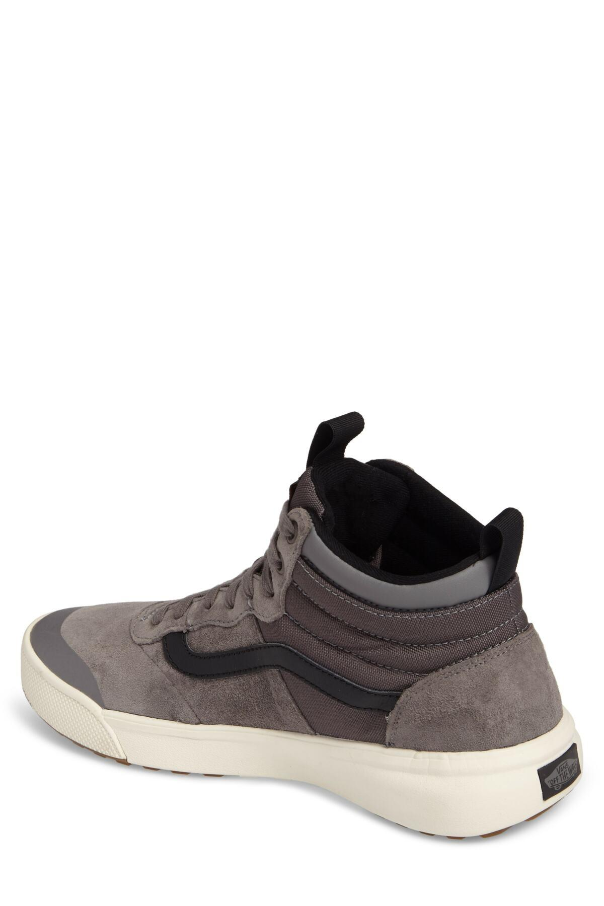 f225aa49fb Vans - Brown Ultrarange Hi Sneaker (men) for Men - Lyst. View fullscreen