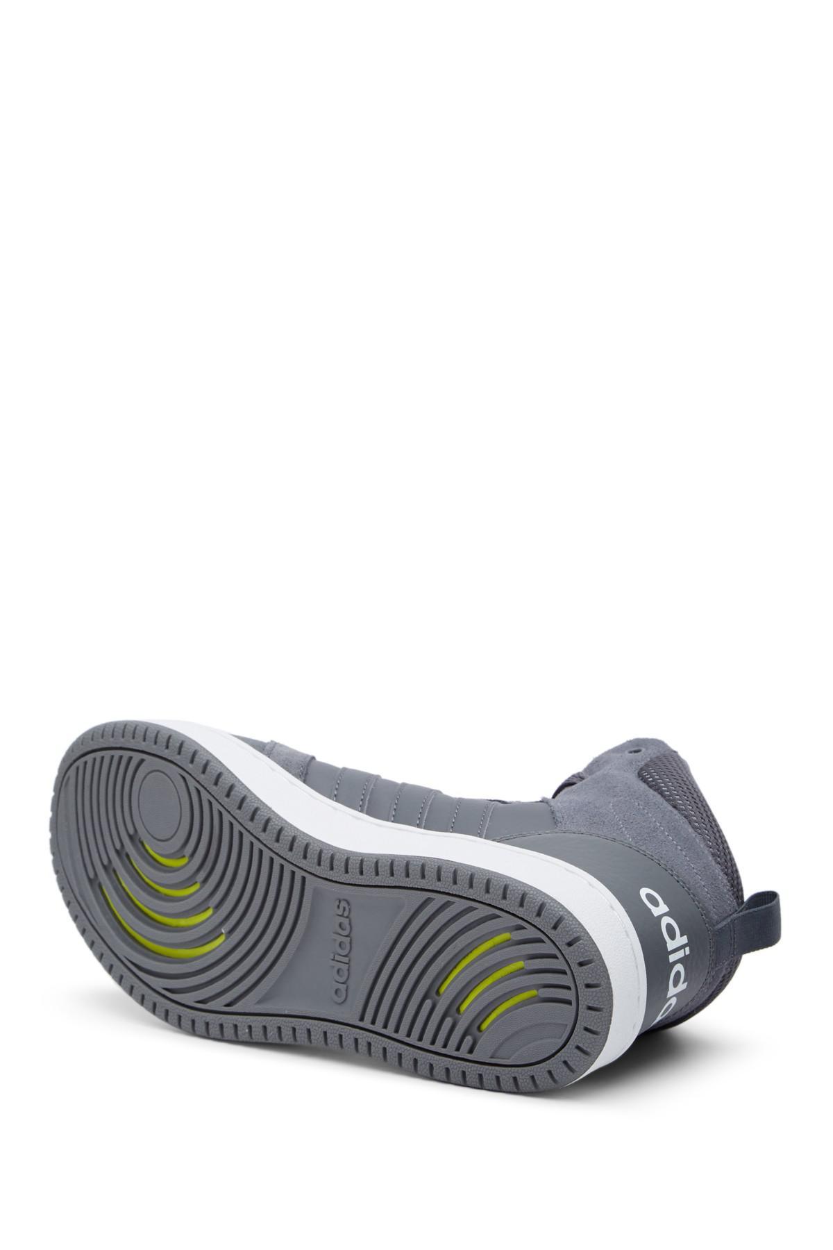 lyst adidas cloudfoam super hoops scarpe blu per gli uomini.