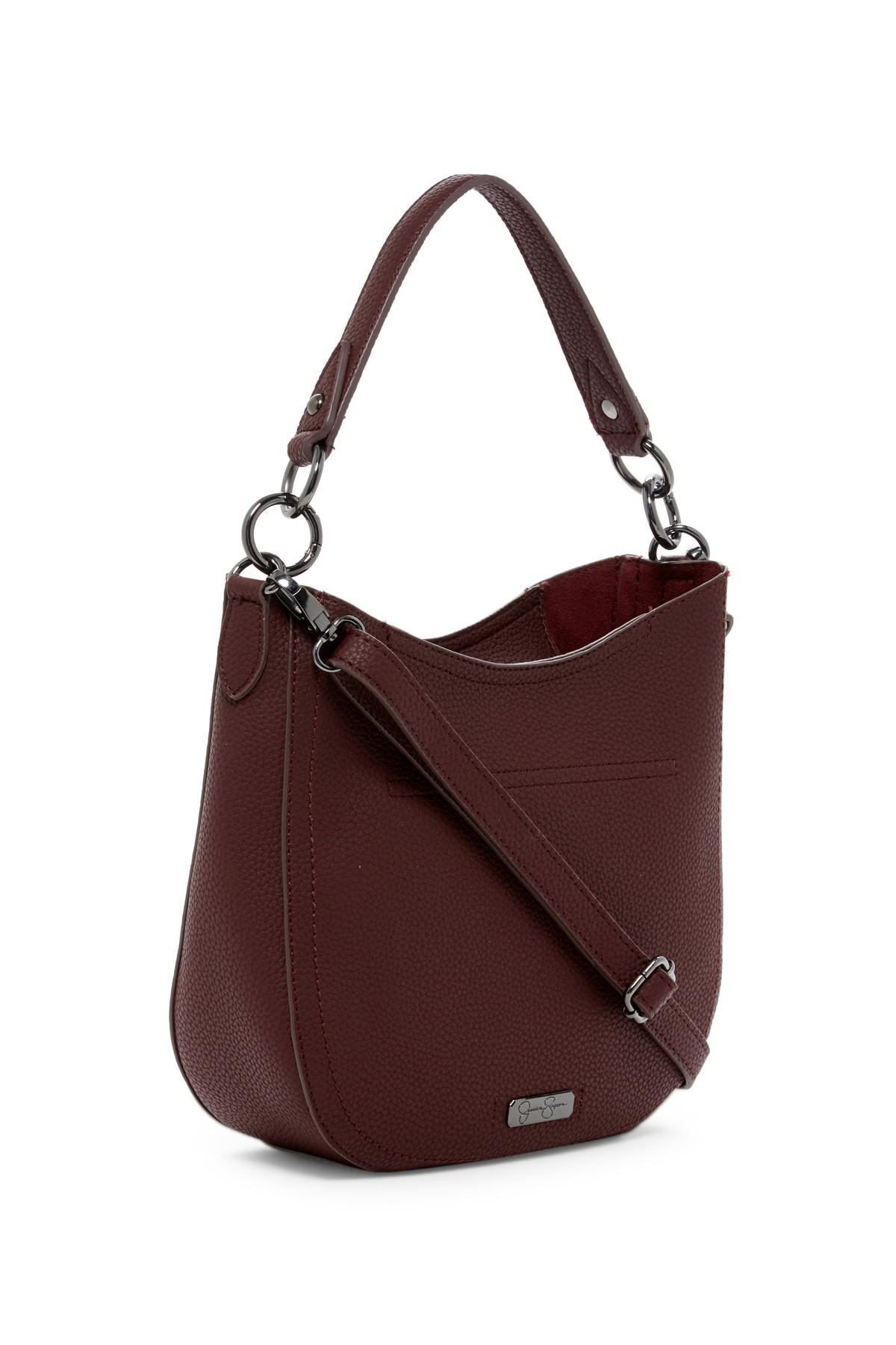 48db79b02659 Lyst - Jessica Simpson Elenore Crossbody Hobo Bag