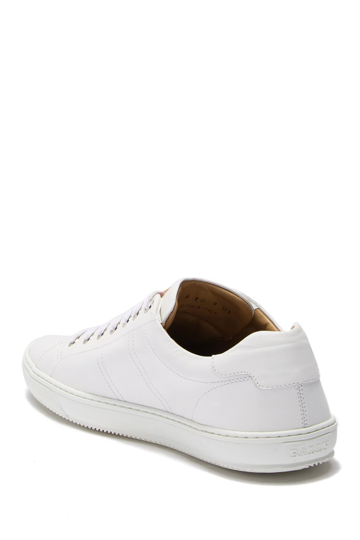 Bally Leather Orivel Calf Plain Sneaker