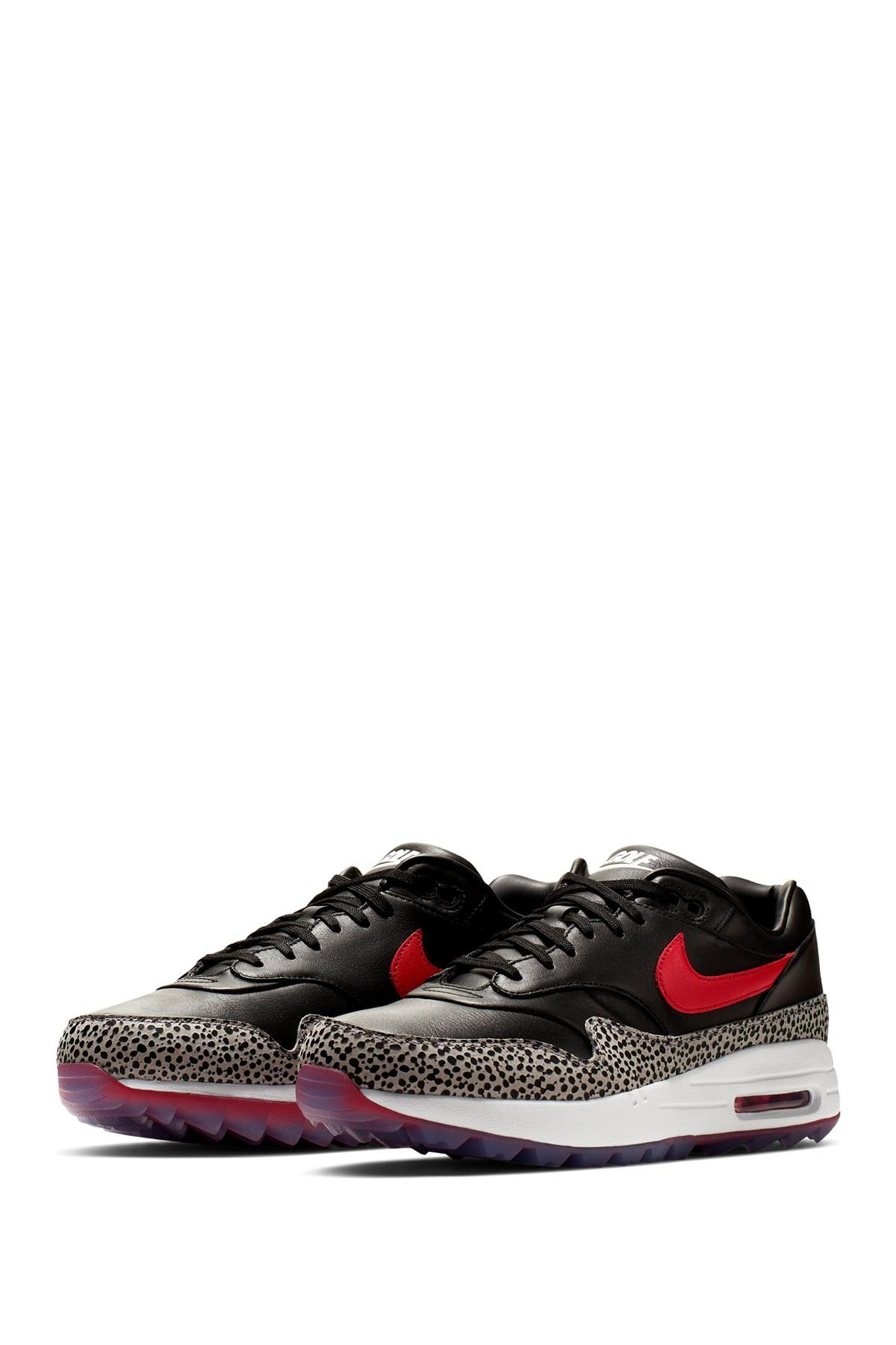 Nike Synthetic Air Max 1g Nrg Golf Shoe In Black For Men Lyst