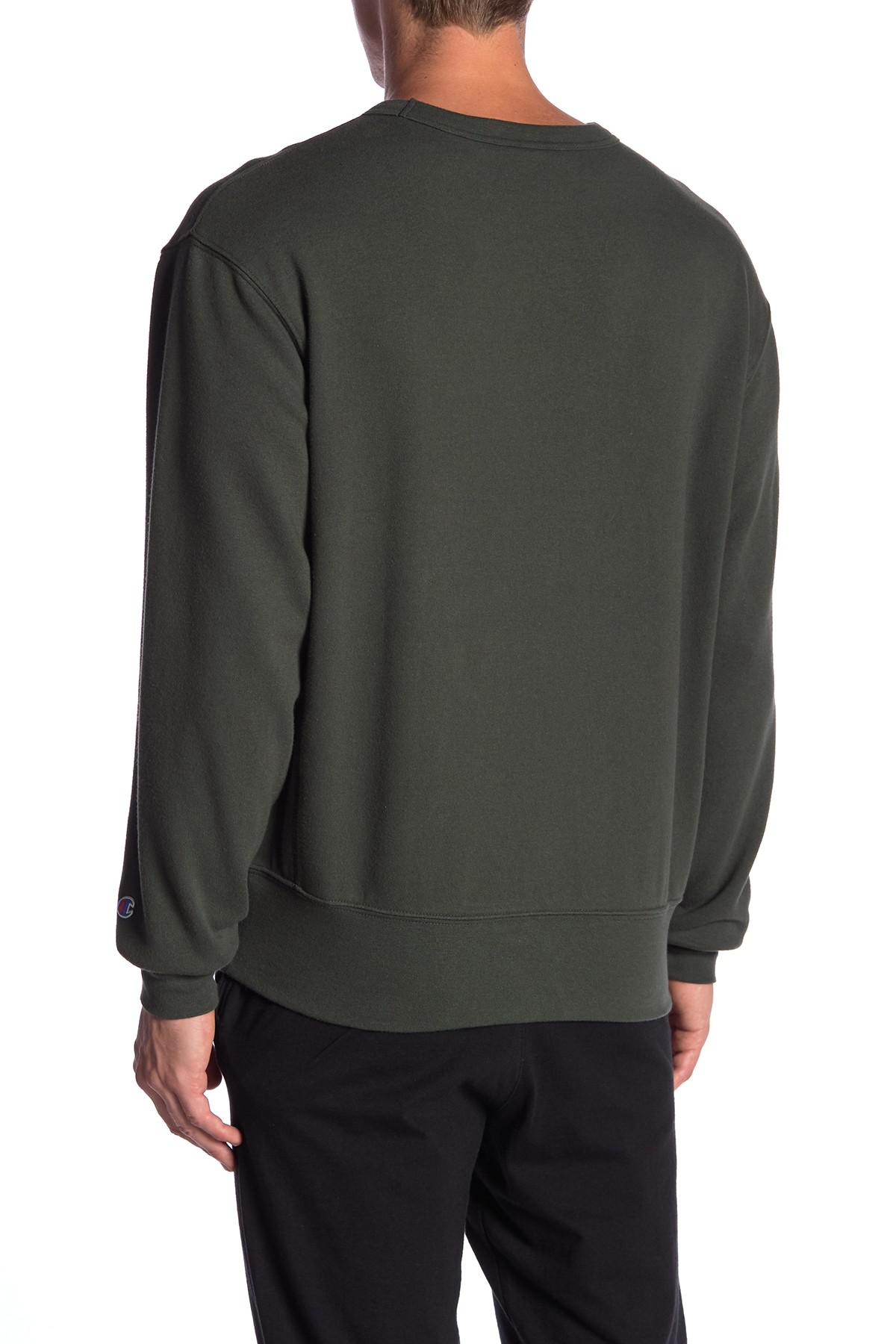 fc73ce0a8 Champion Heritage Crew Neck Fleece Pullover for Men - Lyst
