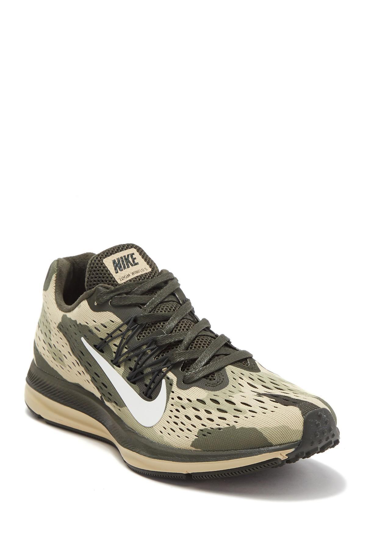 Air Zoom Winflo 5 Camo Running Shoe