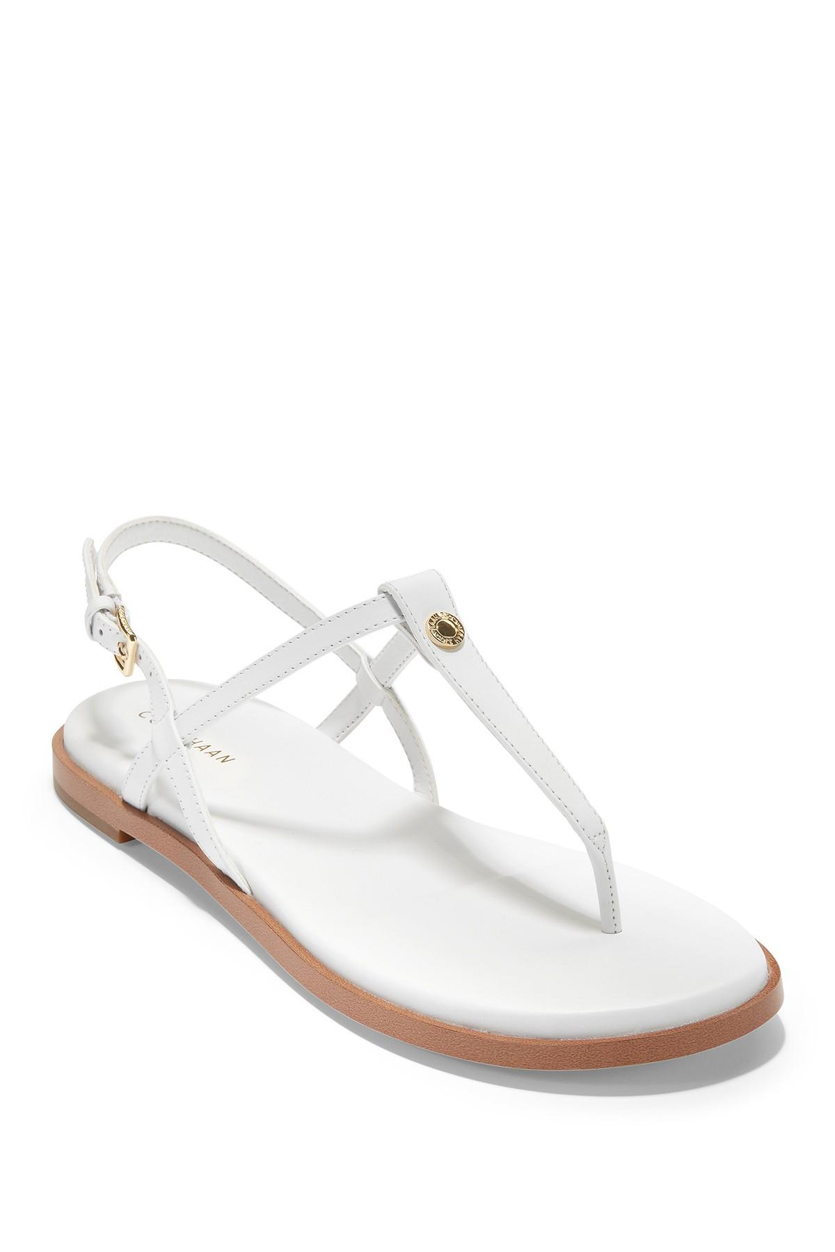 Cole Haan Flora Thong Sandal in White