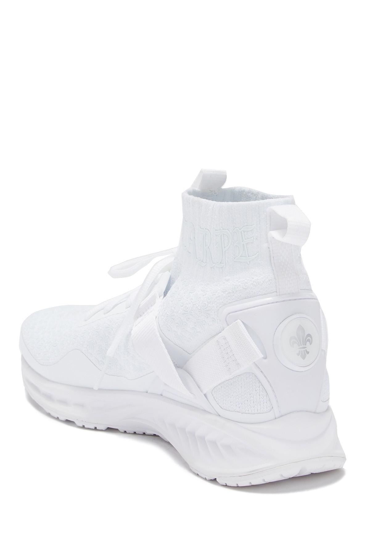 best service a0a13 38a1d PUMA White Ignite Evoknit (en Noir) for men