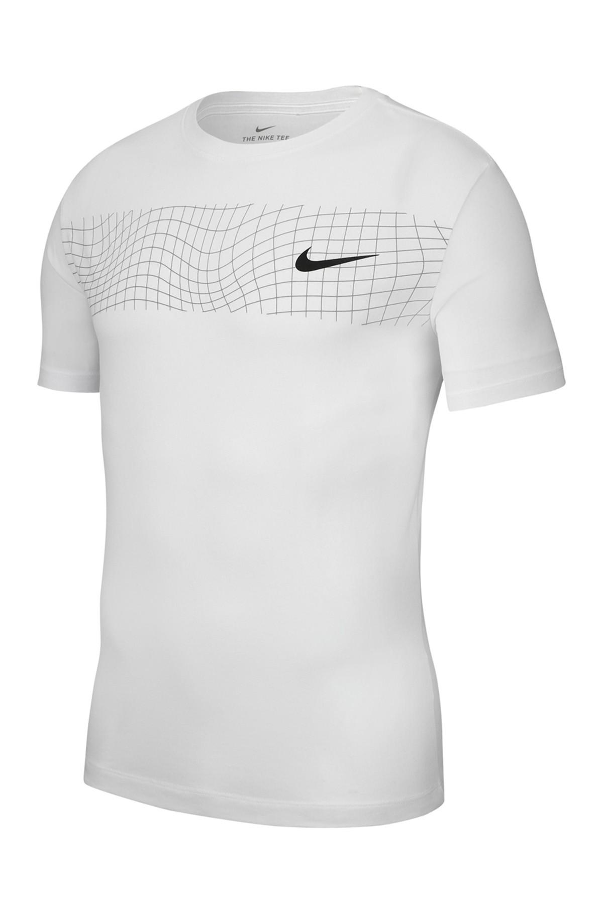 edcab46ed17 Lyst - Nike Grid Graphic Crew Tee in White for Men