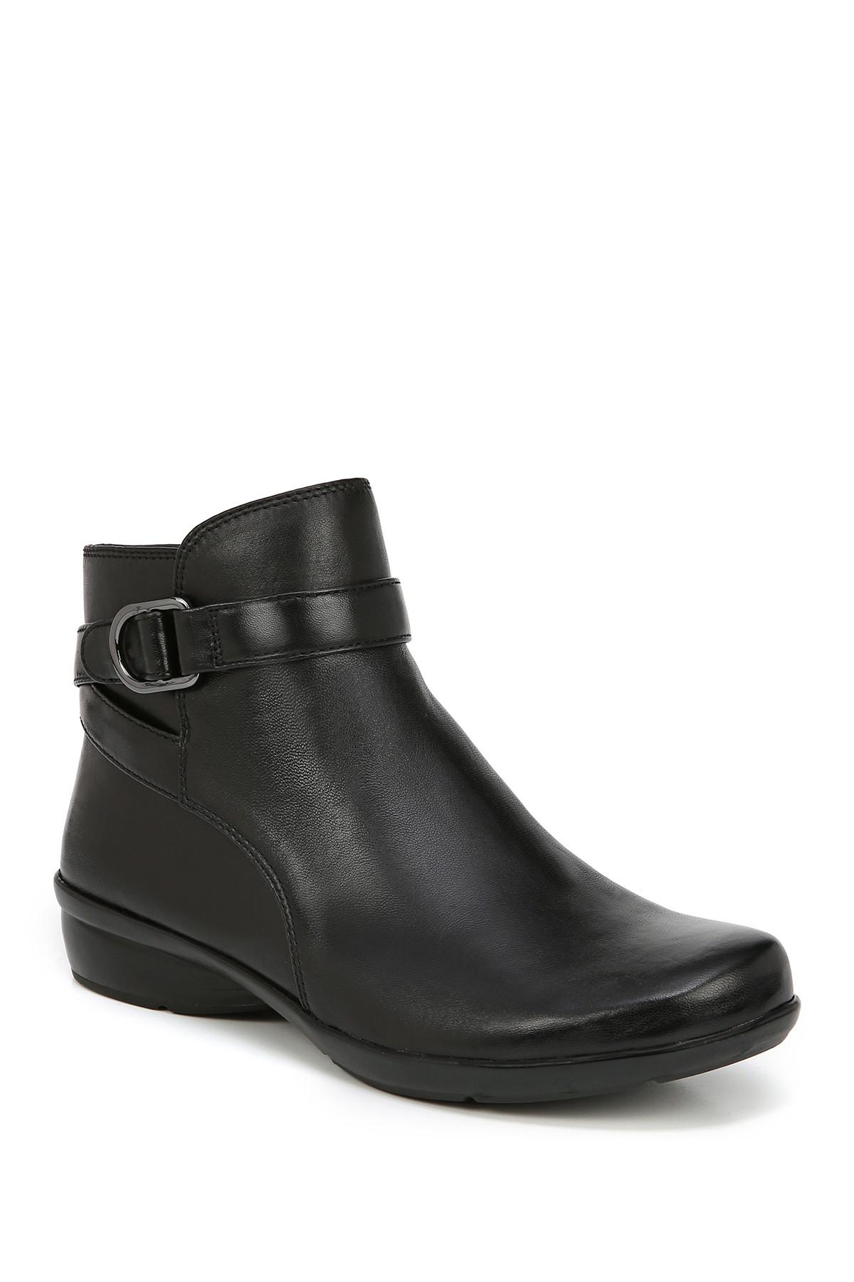 35de8ef42d4 Lyst - Naturalizer Colette Leather Bootie - Wide Width Available in ...