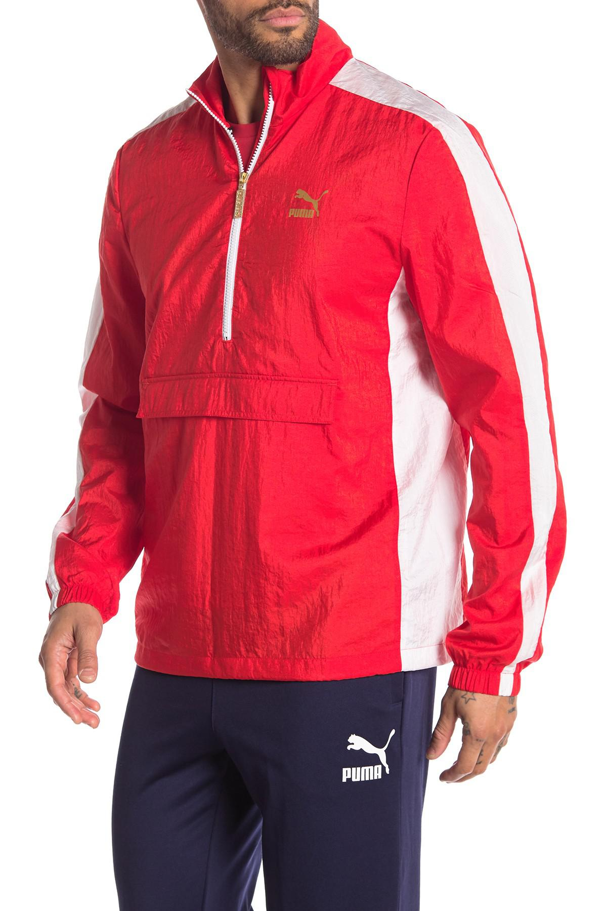 bf29c86684c644 PUMA - Red T7 Bboy Track Jacket for Men - Lyst. View fullscreen