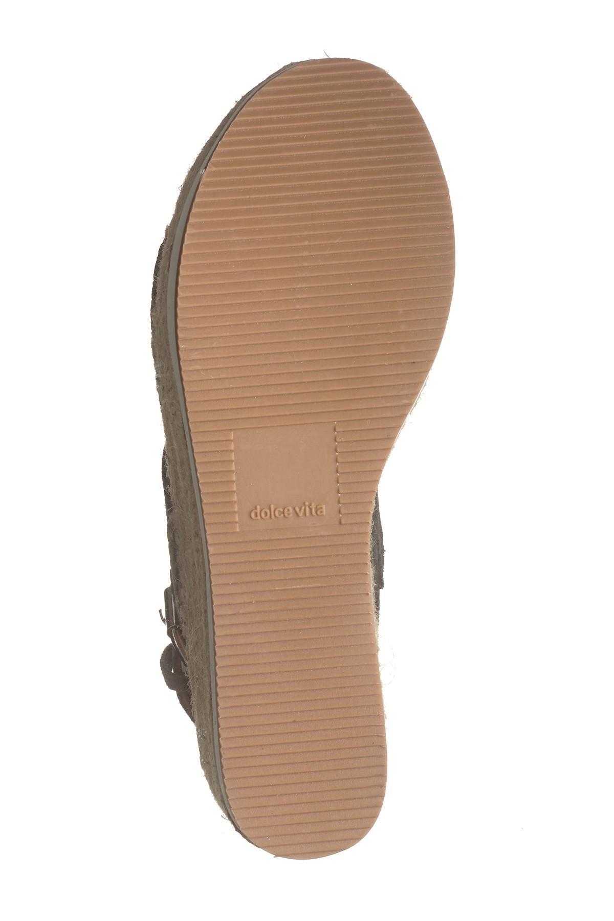 1ae413be8ee0 Dolce Vita - Multicolor Maggie Platform Espadrille Wedge Sandal - Lyst.  View fullscreen