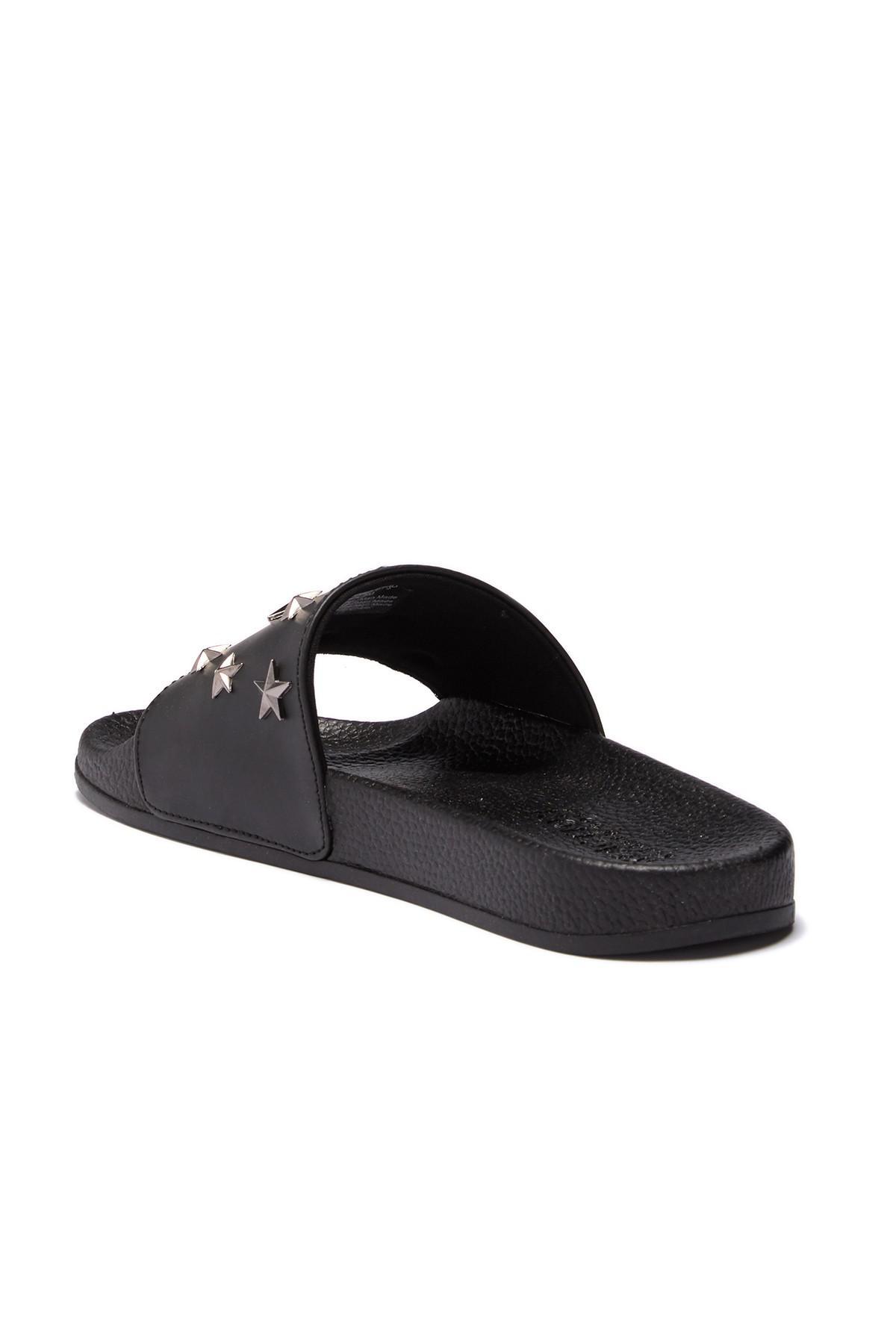 457747fa9d89 Lyst - Kenneth Cole Reaction Screen Stud Slide Sandal in Black for Men