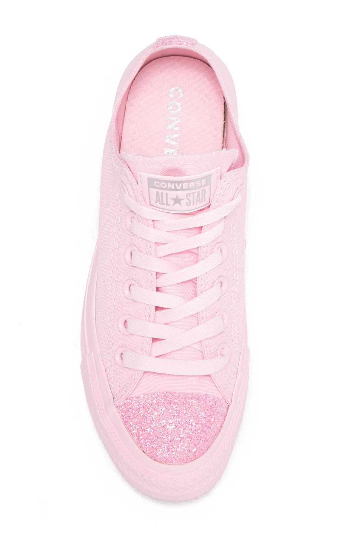 Star Ox Glitter Toe Sneaker (women