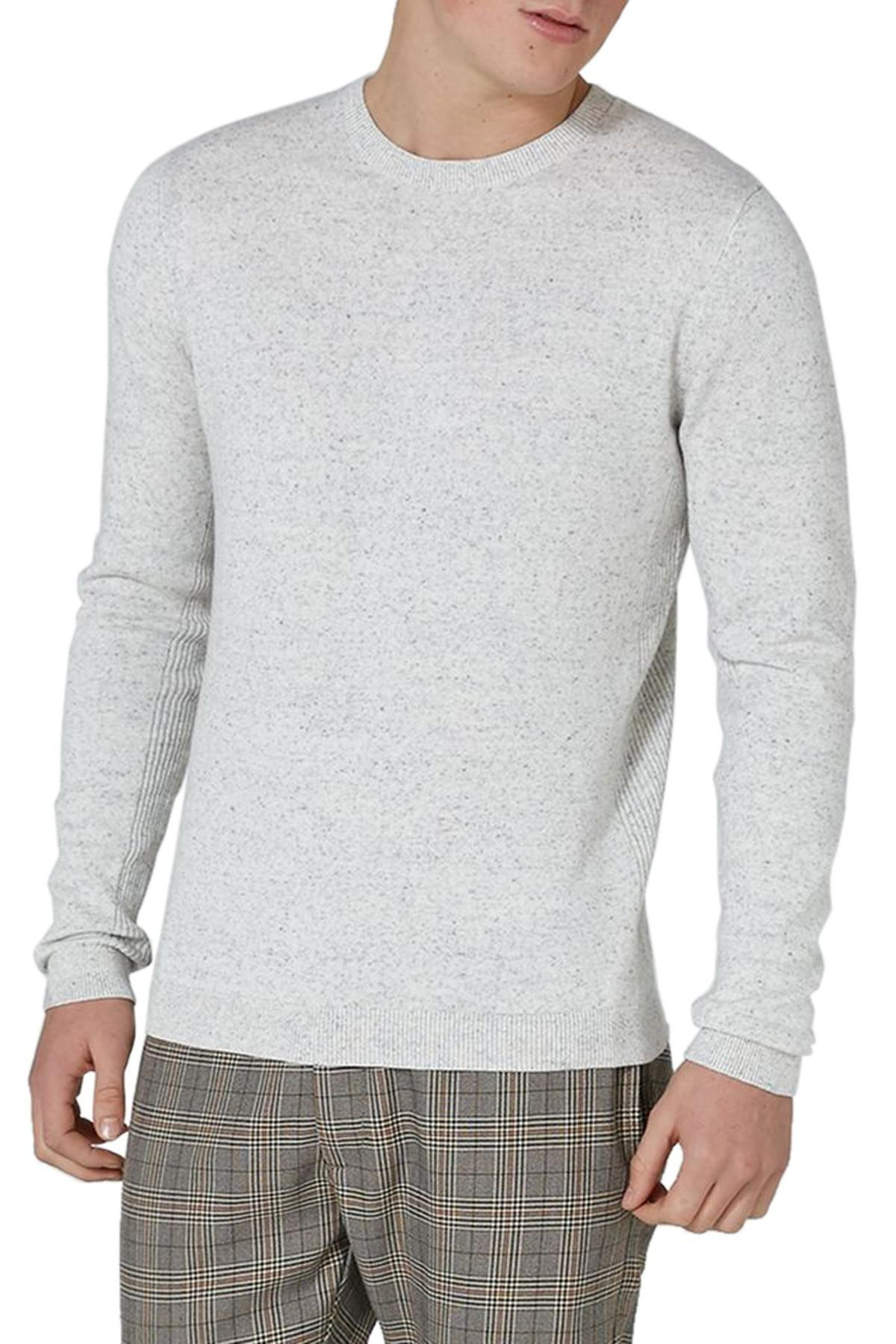 Topman Slim Fit Side Rib Sweater Cheap Sale Huge Surprise Official Site Discount Reliable Cheap Good Selling YtJROO