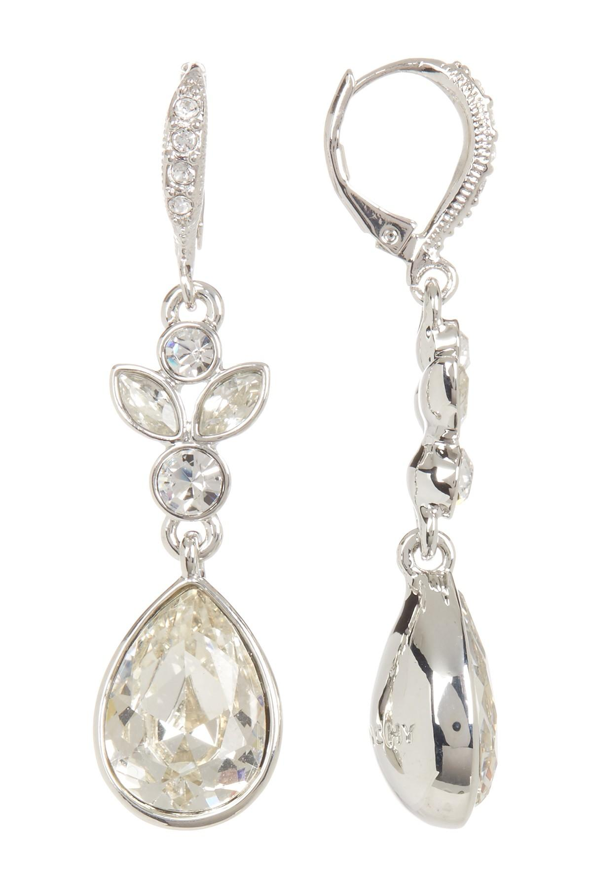 ec669e2a6b6e4 Women's Round, Marquise, & Pear Crystal Drop Earrings