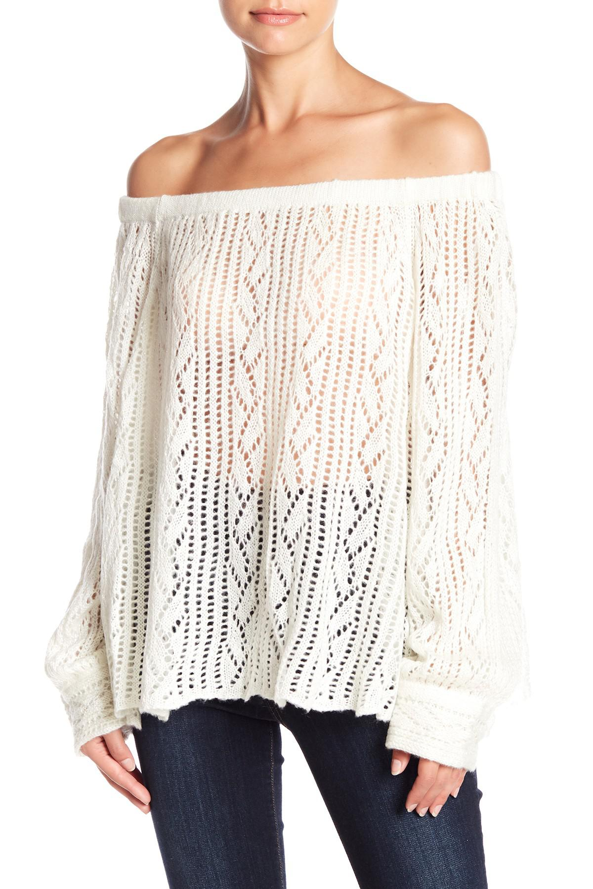 Odzież damska MUCHE ET MUCHETTE Poncho Knitted Scarves Sweater Acrylic Sequin Sparkle Top Knit Swetry i dzianina