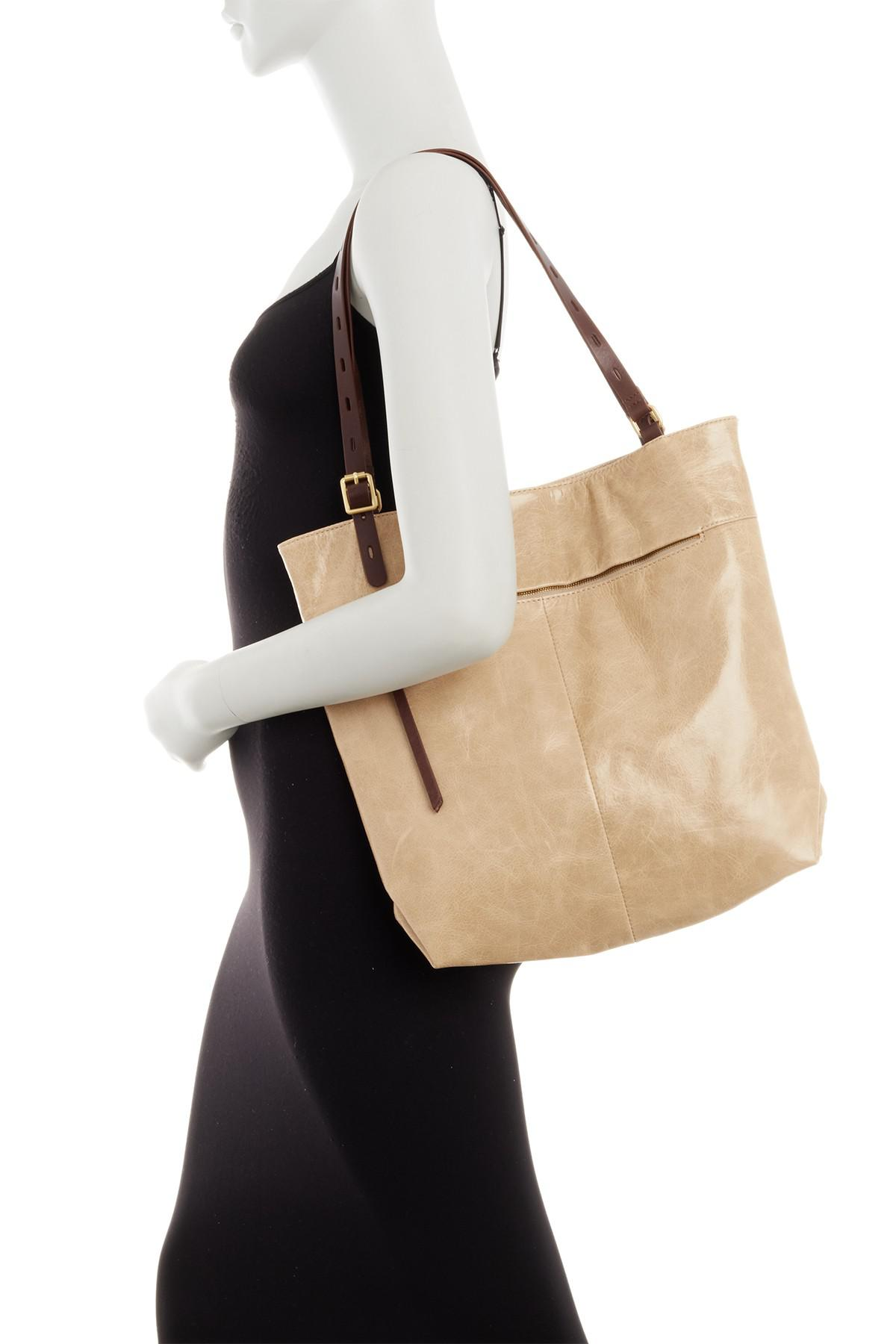 ef6715198df5f Hobo Lennon Leather Tote - Lyst