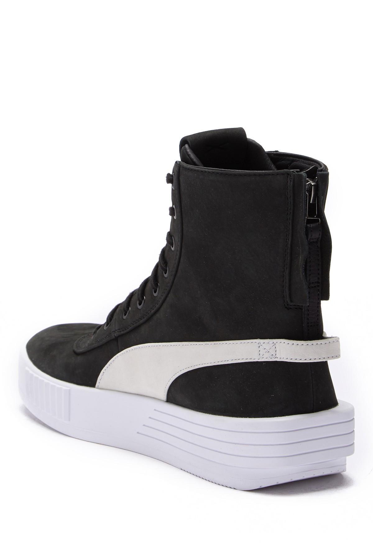 PUMA - Black Xo Parallel Hi-top Sneakers for Men - Lyst. View fullscreen 6943583b1