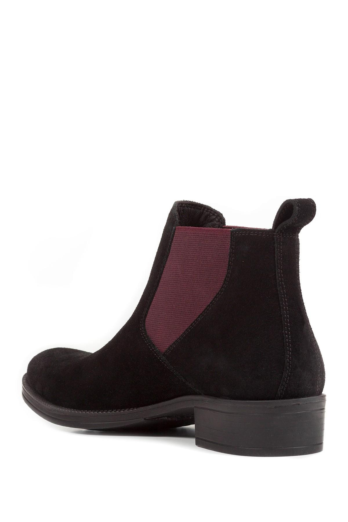Lyst - Geox Laceyin Chelsea Boot in Black 30f8190a1c1