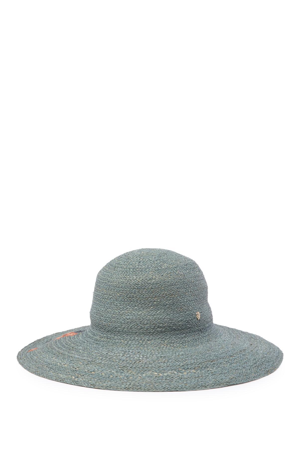 e4e63d4efa66 Helen Kaminski - Gray Jardin Wide Brim Cloche Hat - Lyst. View fullscreen