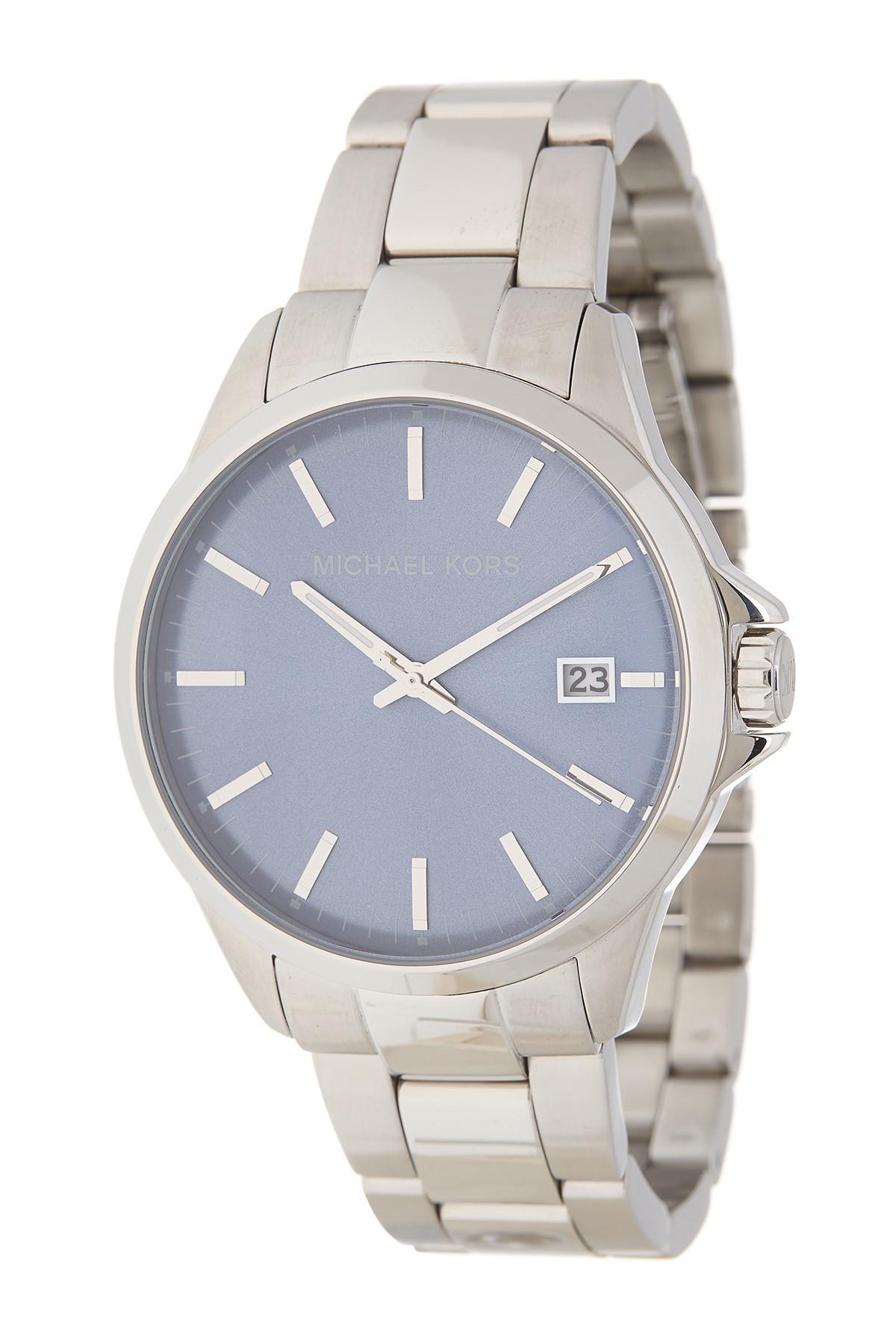 81f6eae0b839 MICHAEL Michael Kors. Metallic Men s Penn Bracelet Watch ...