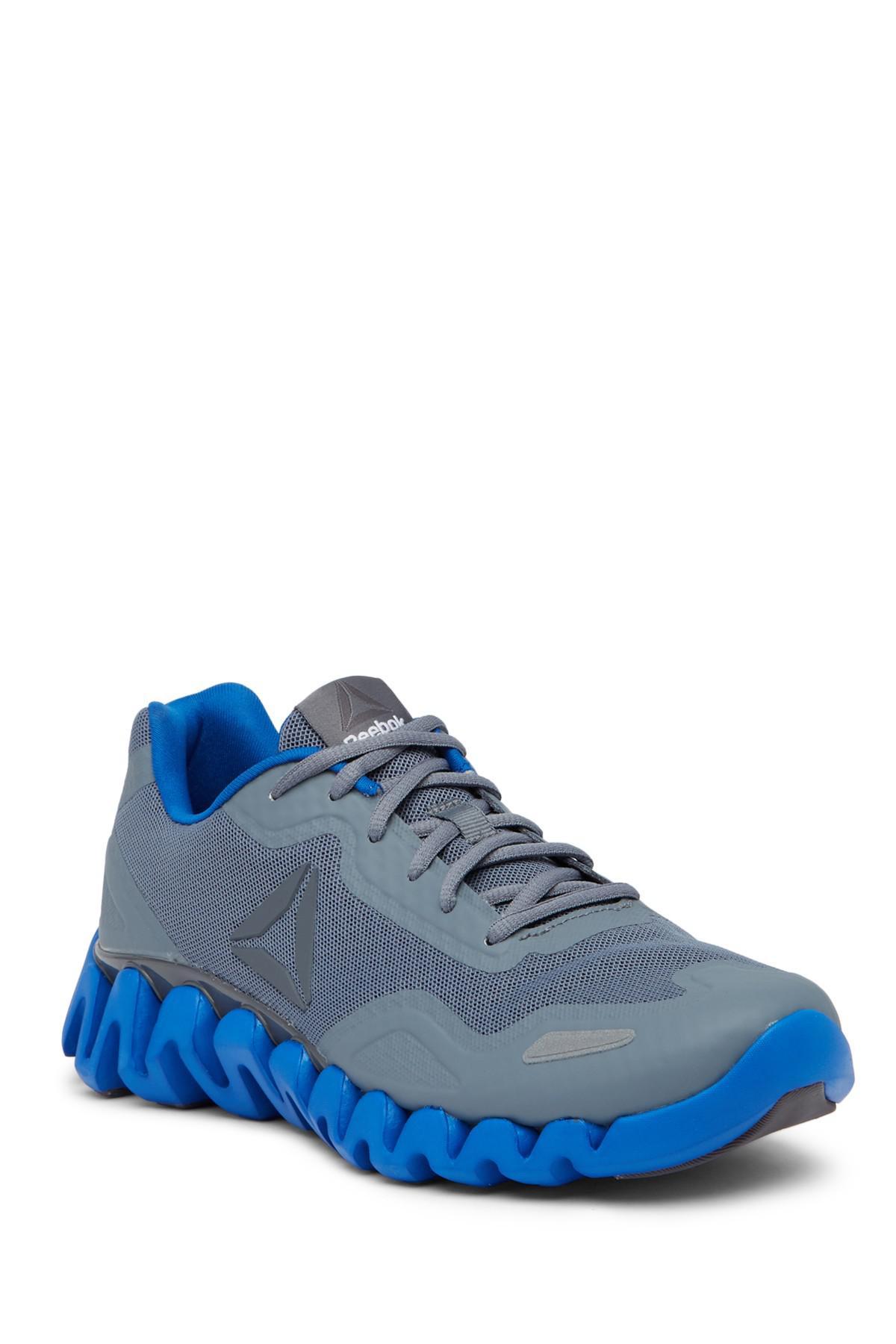 Lyst - Reebok Zig Pulse Sneaker in Blue for Men 396a25c3c